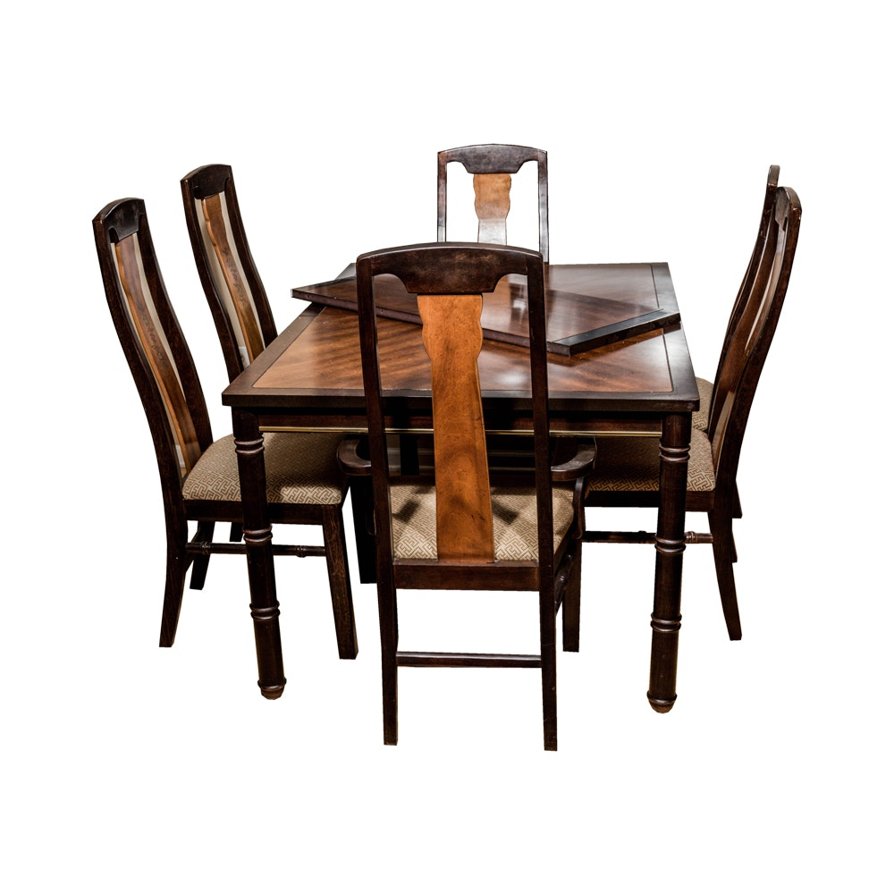 Asian-Inspired Dining Set