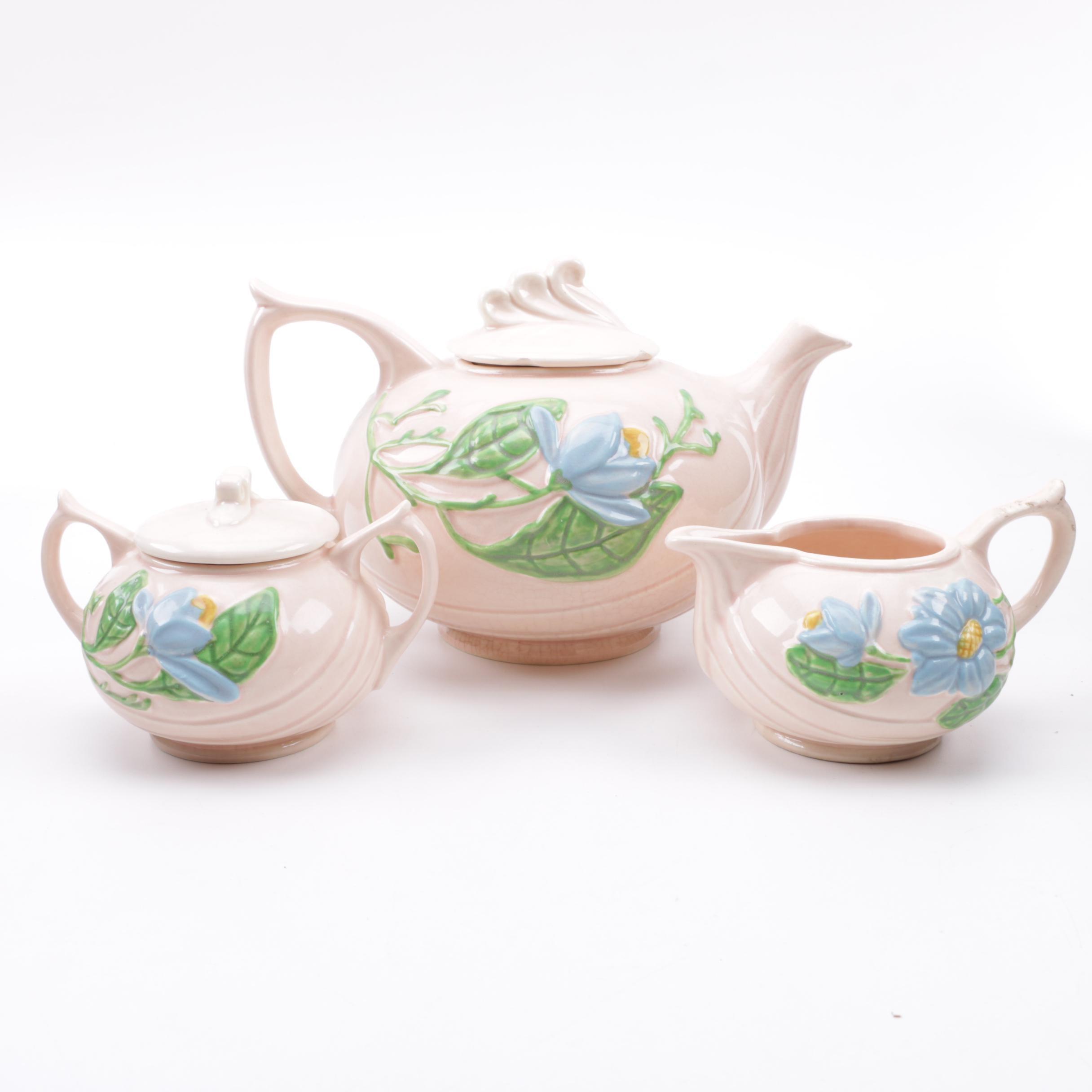 Hull Art Pottery Ceramic Tea Set
