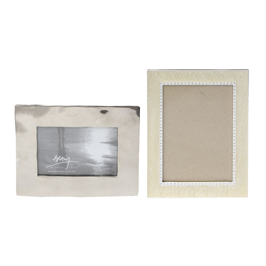 Picture Frames Including Michael Aram Reflective Frame : EBTH