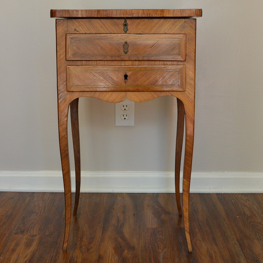 Antique Mid-19th Century Louis XV Style Side Table