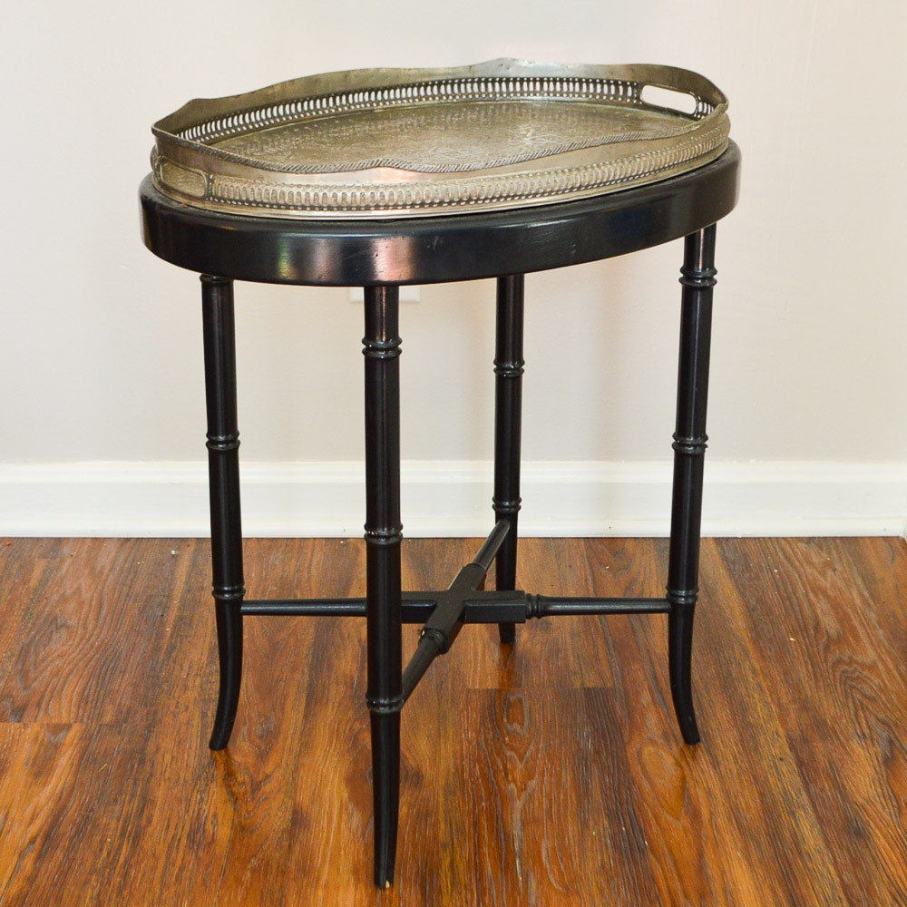 Moroccan Style Tray Table