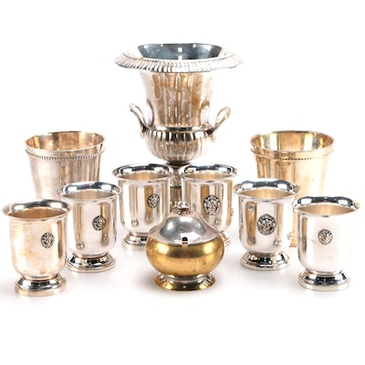 Silver Plated Decor and Tableware Including Godinger