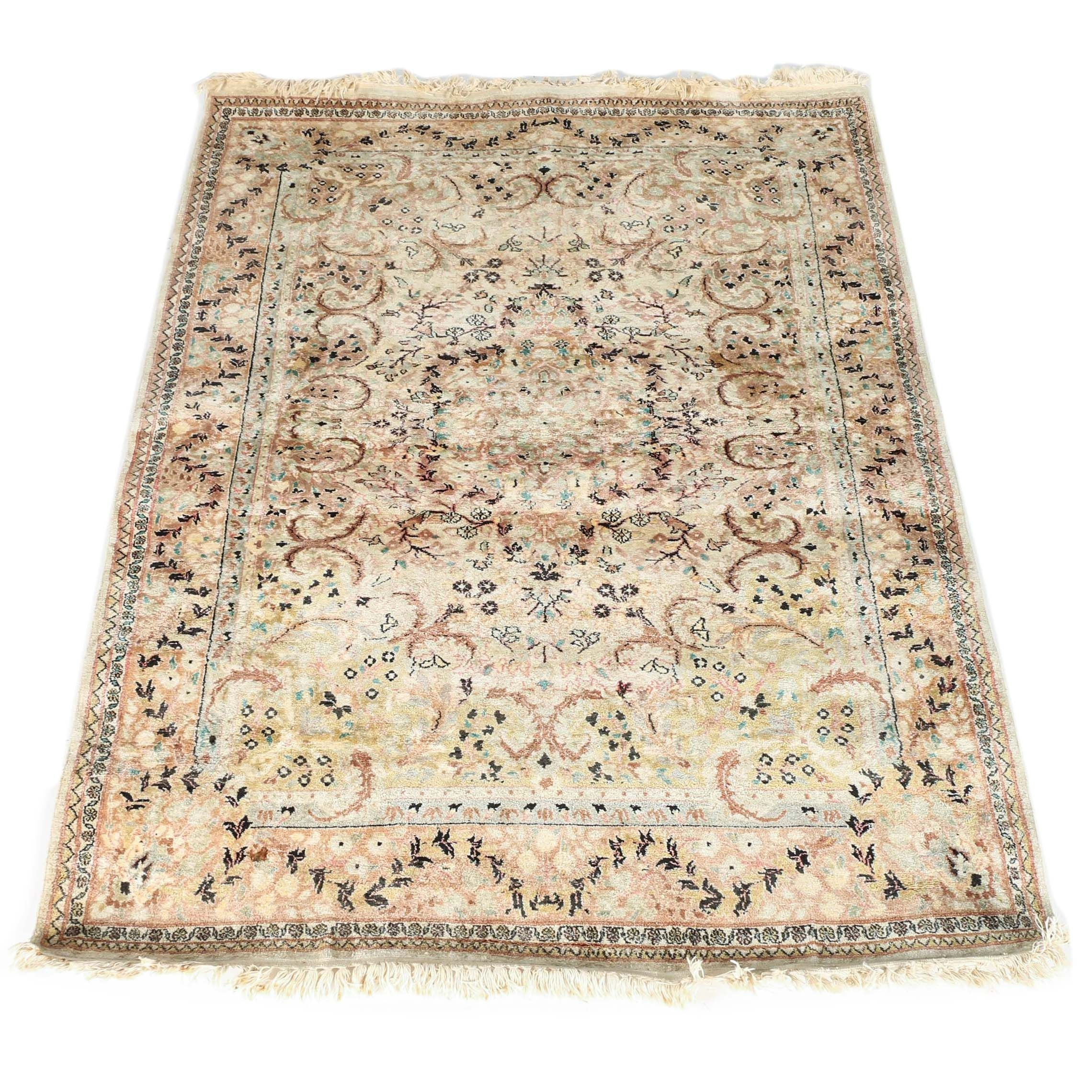 Hand-Knotted Persian Style Area Rug