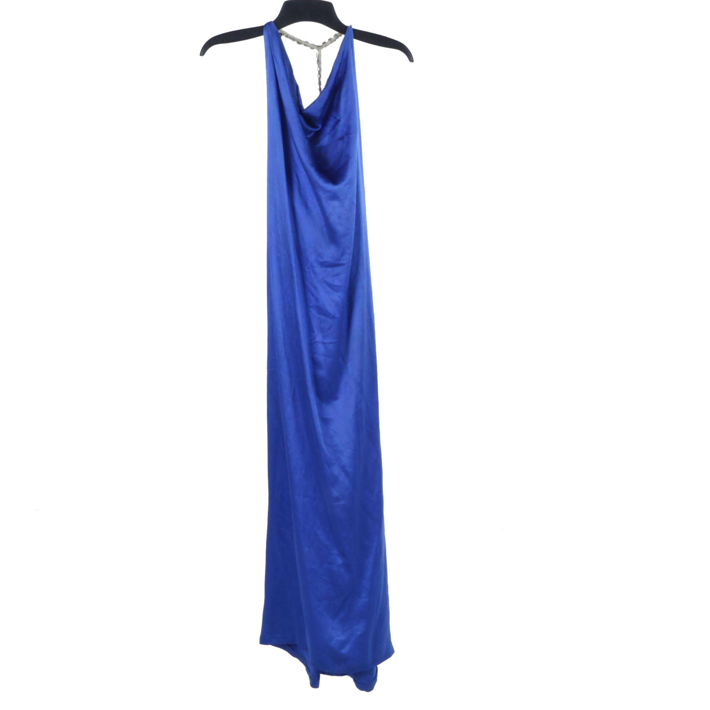 Vintage Oscar de la Renta Silk Evening Gown