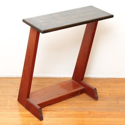 wood lap table vintage tables antique tables and retro tables auction in art