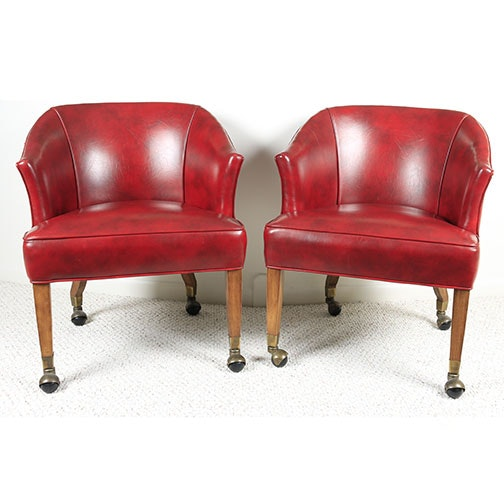 Pair of Tub Chairs by Style Upholstery, Inc.