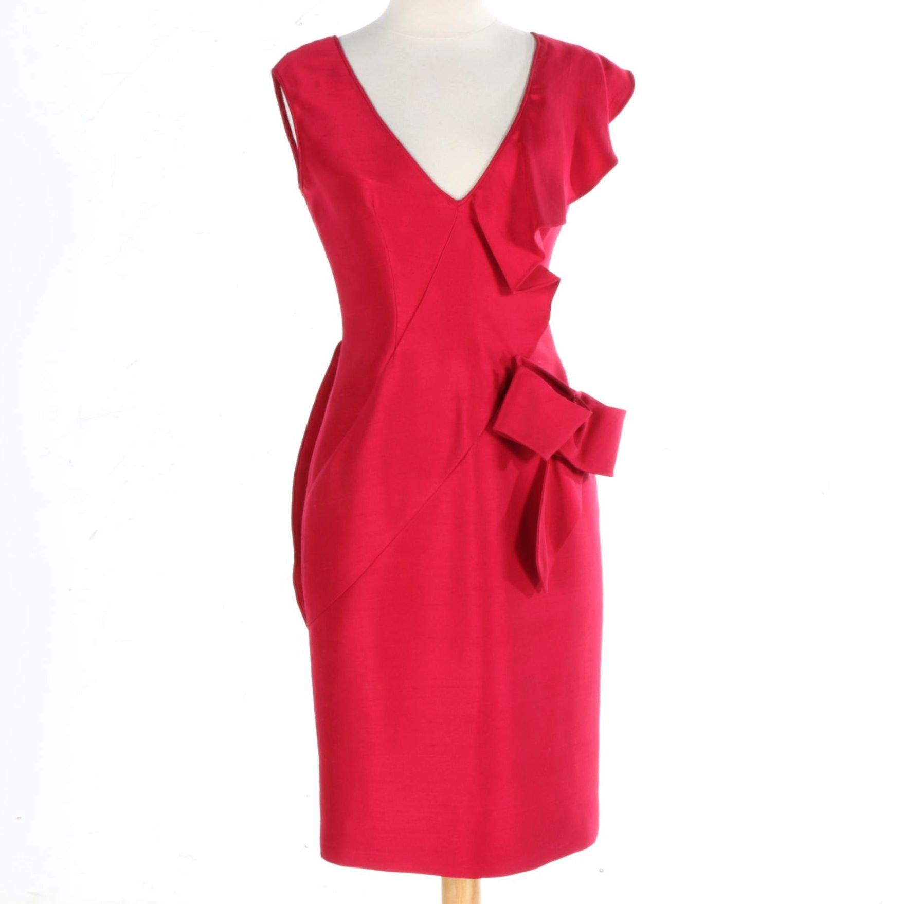 Valentino Silk Cocktail Dress