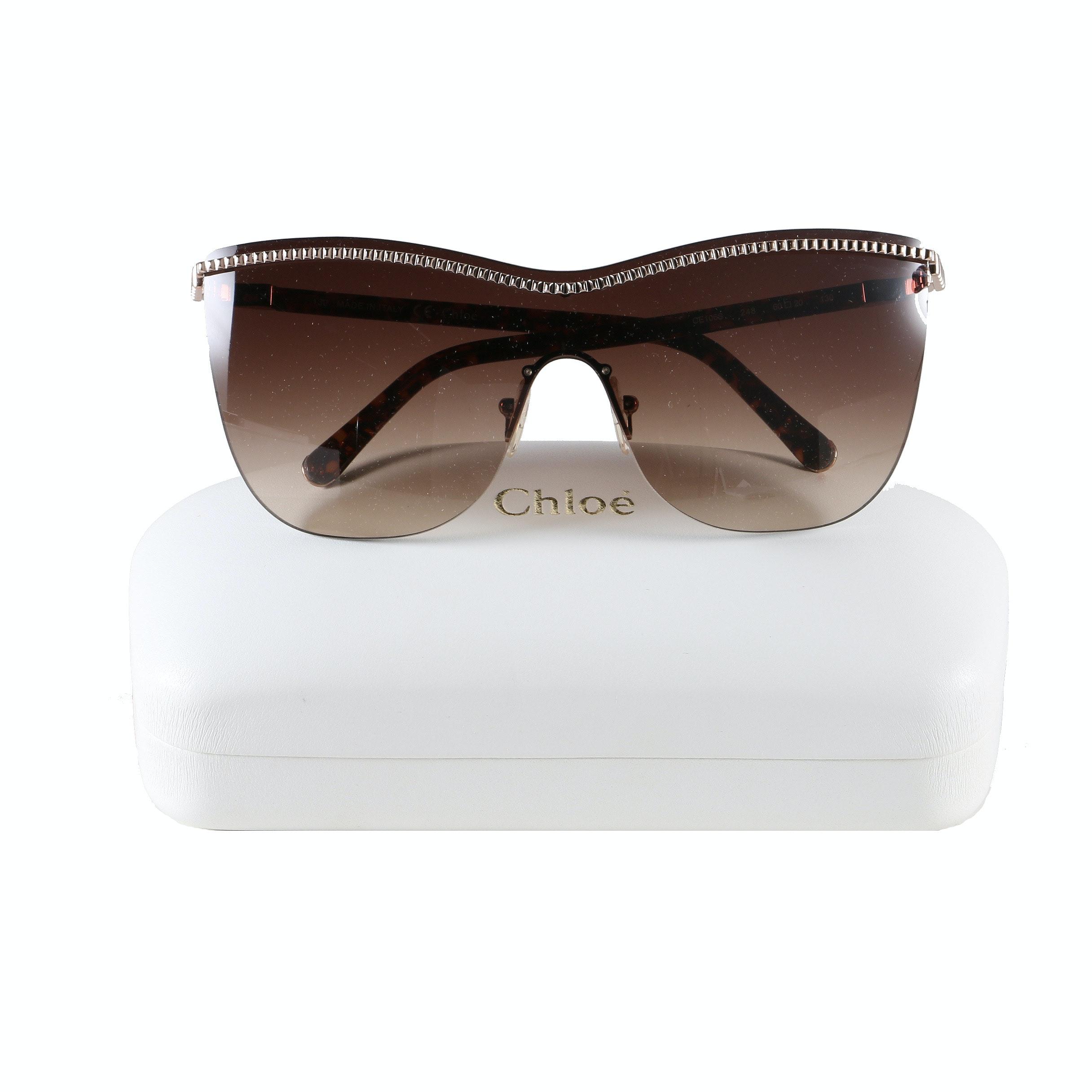 Chloé Rimless Sunglasses