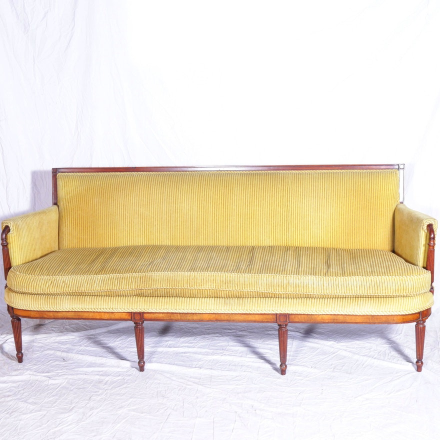 Vintage Louis Xvi Style Sofa By Baker Furniture