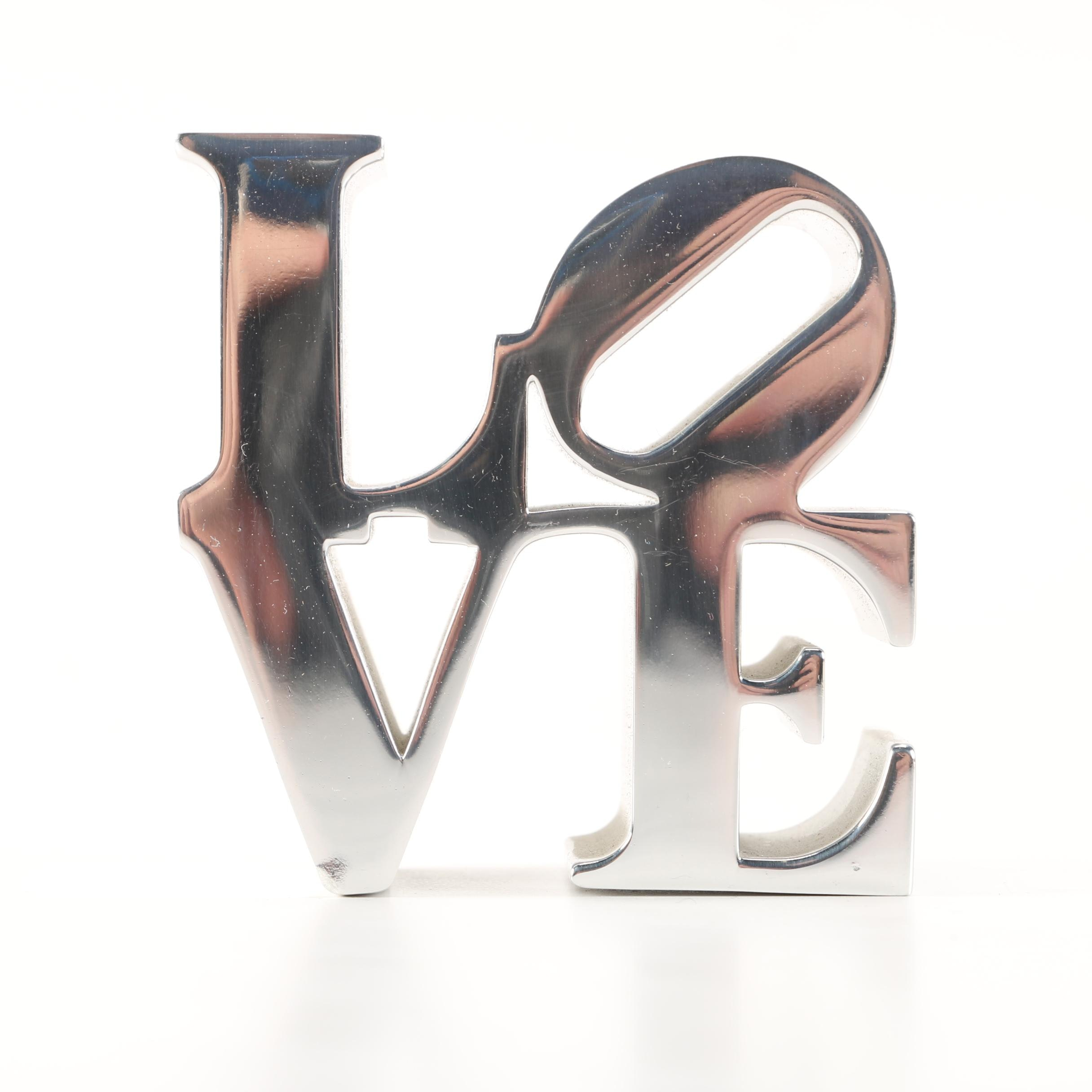"Miniature ""Love"" Sculpture"