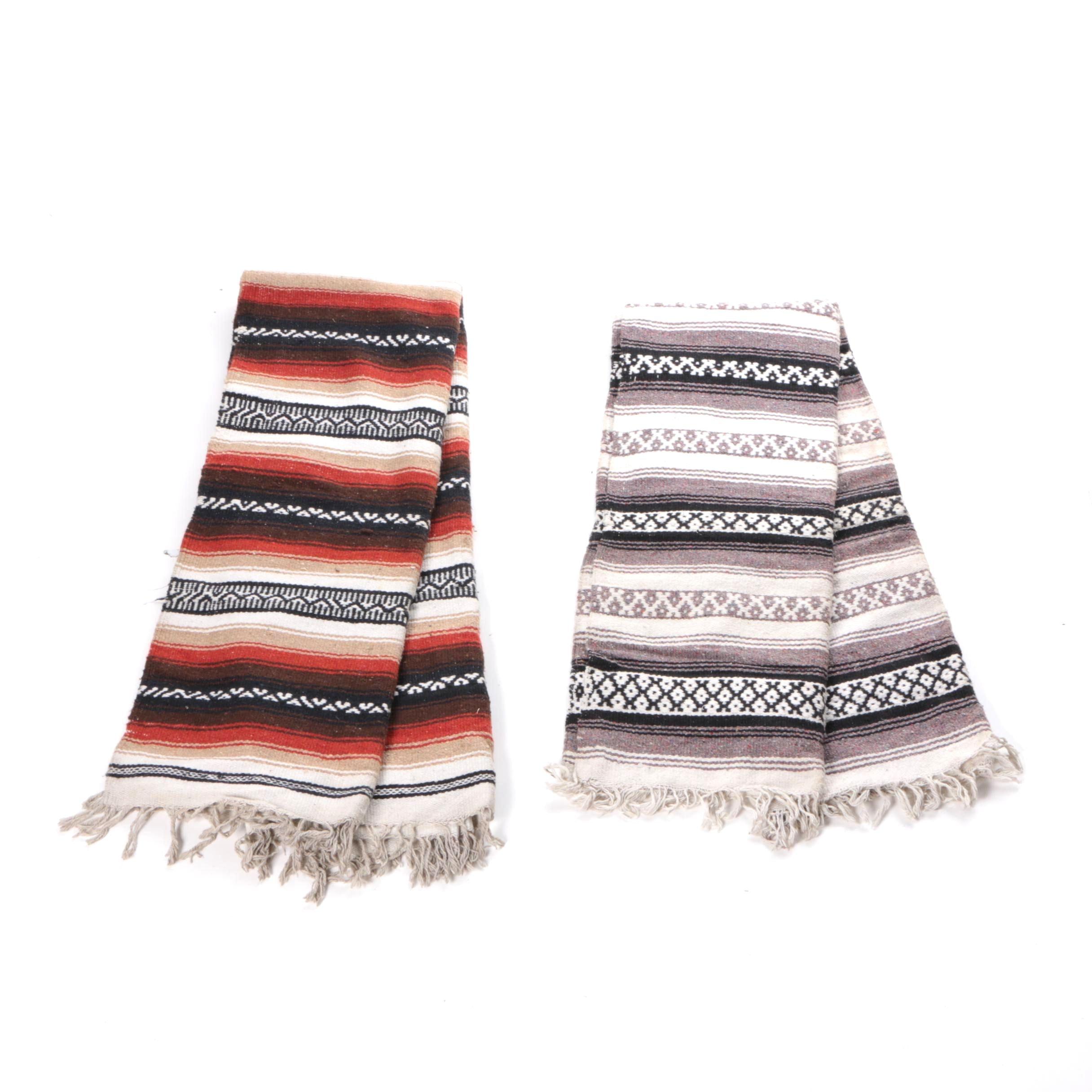 Striped Wool Blankets