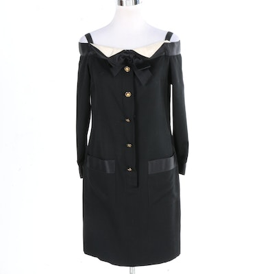 Chanel Boutique Wool Dress