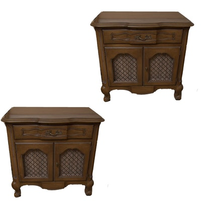 Pair of Vintage Nightstands by White Furniture Company - Vintage Tables, Antique Tables And Retro Tables Auction : EBTH