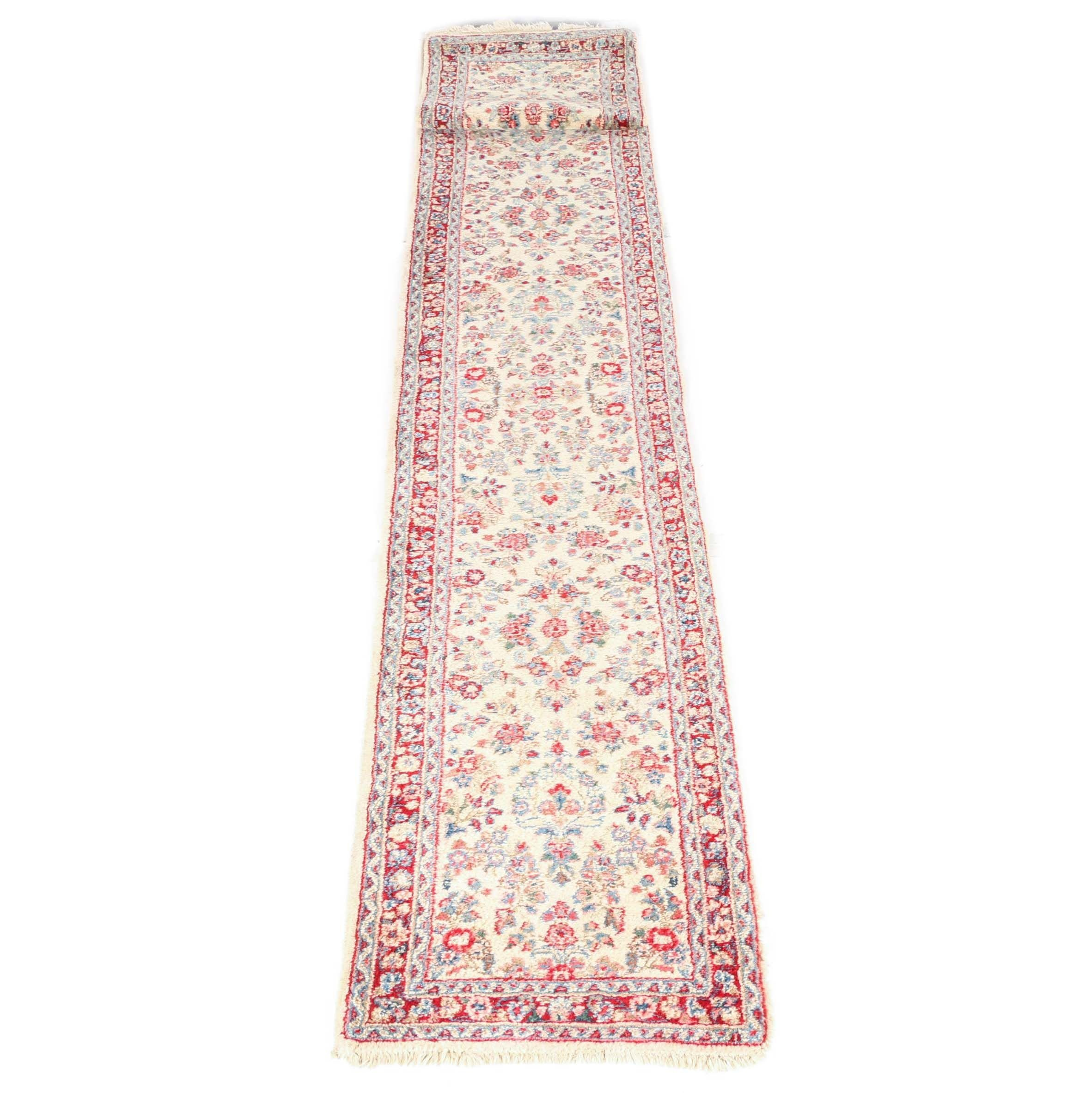 Hand-Knotted Indo-Persian Runner