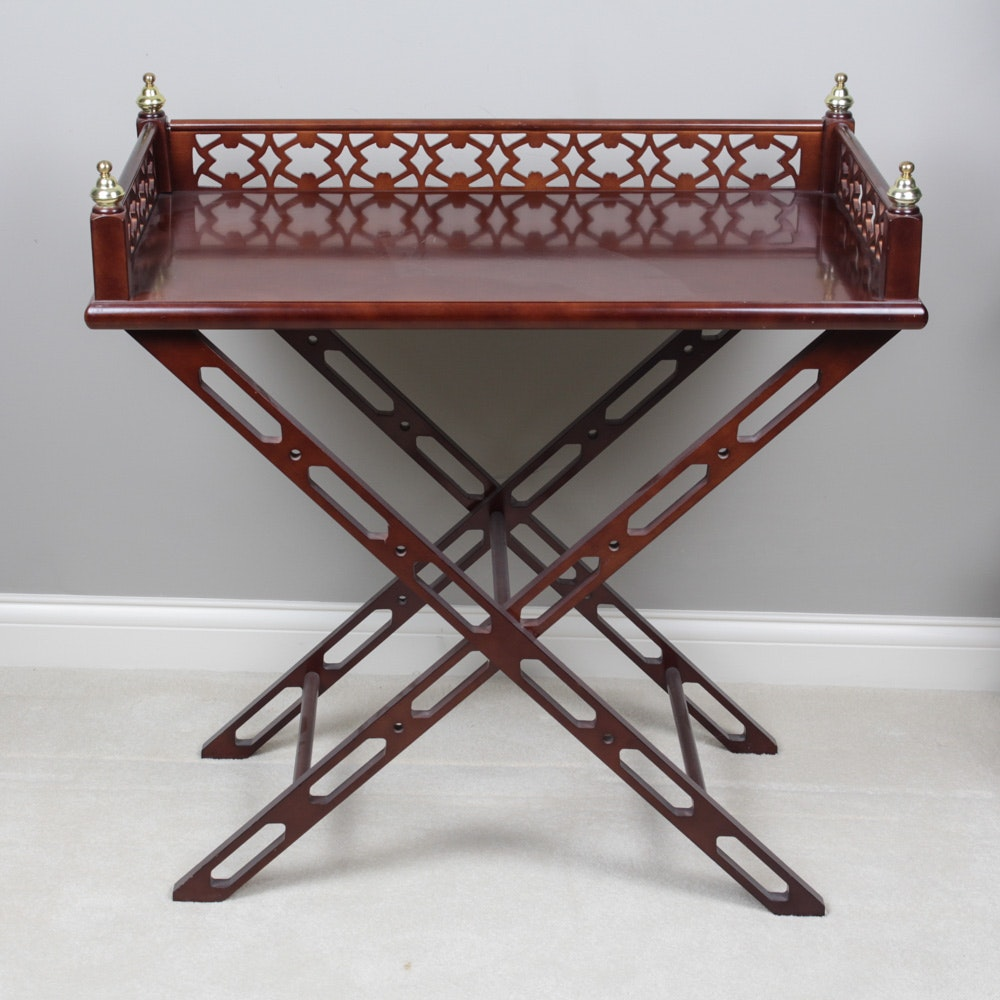Luggage Stand Style Side Table
