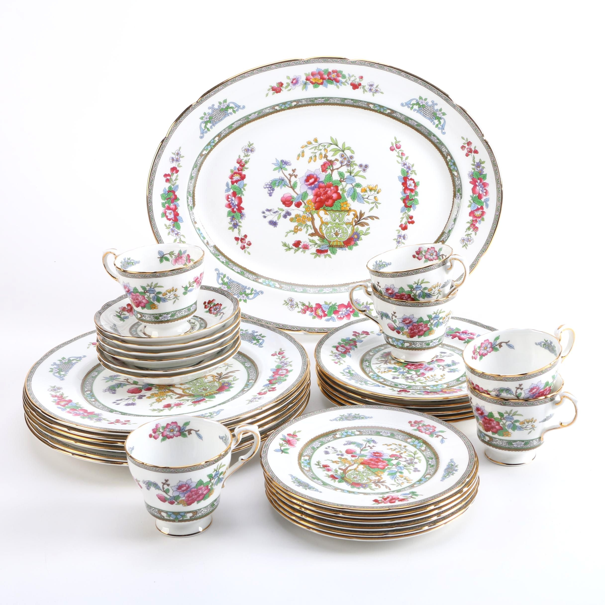 Paragon  Tree of Kashmir  Porcelain Service ...  sc 1 st  EBTH.com & Paragon