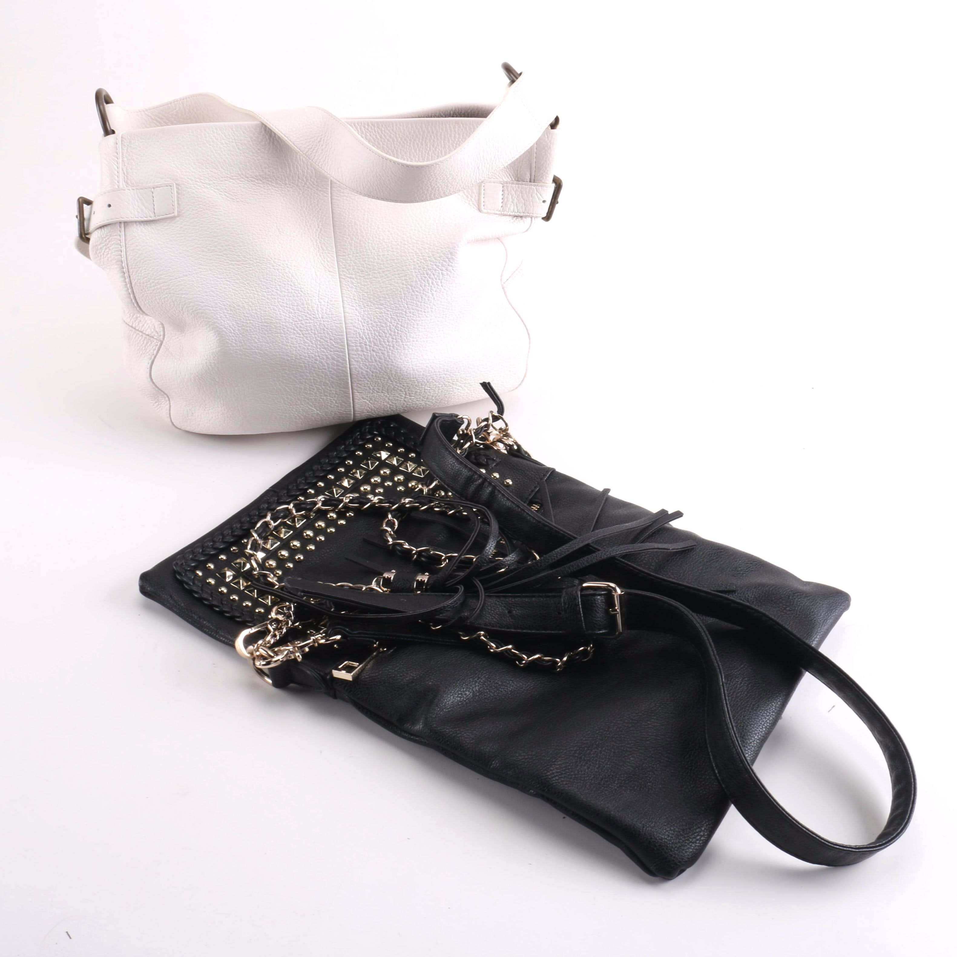Leather Handbags Including Gap and Lionel