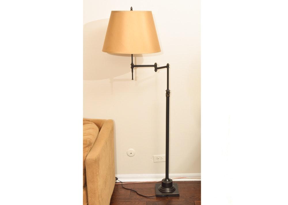 Adjustable Swing Arm Floor Lamp