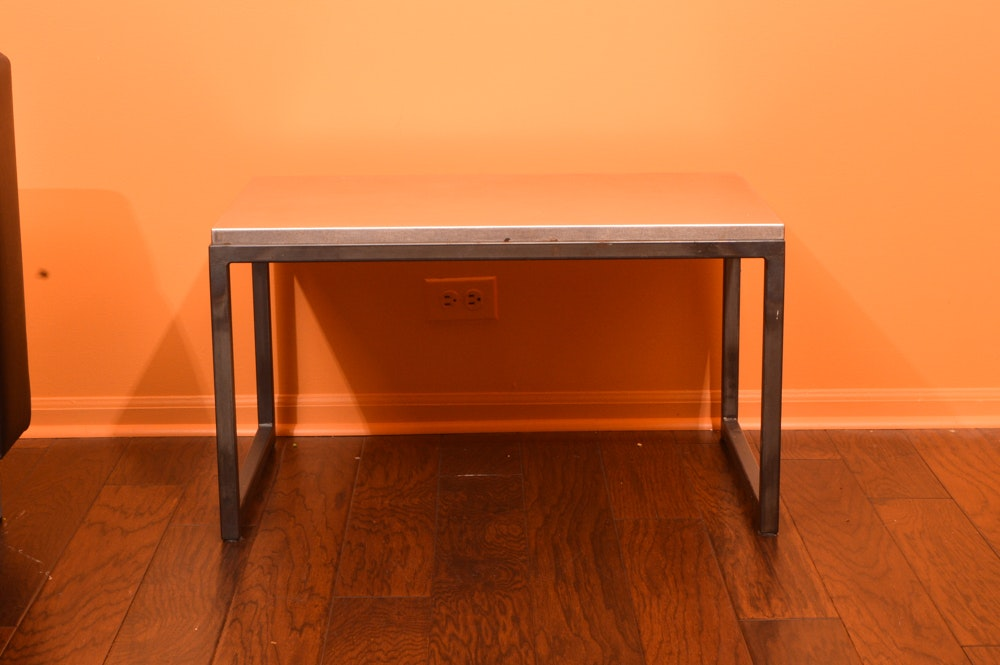 Contemporary Metal Coffee Table