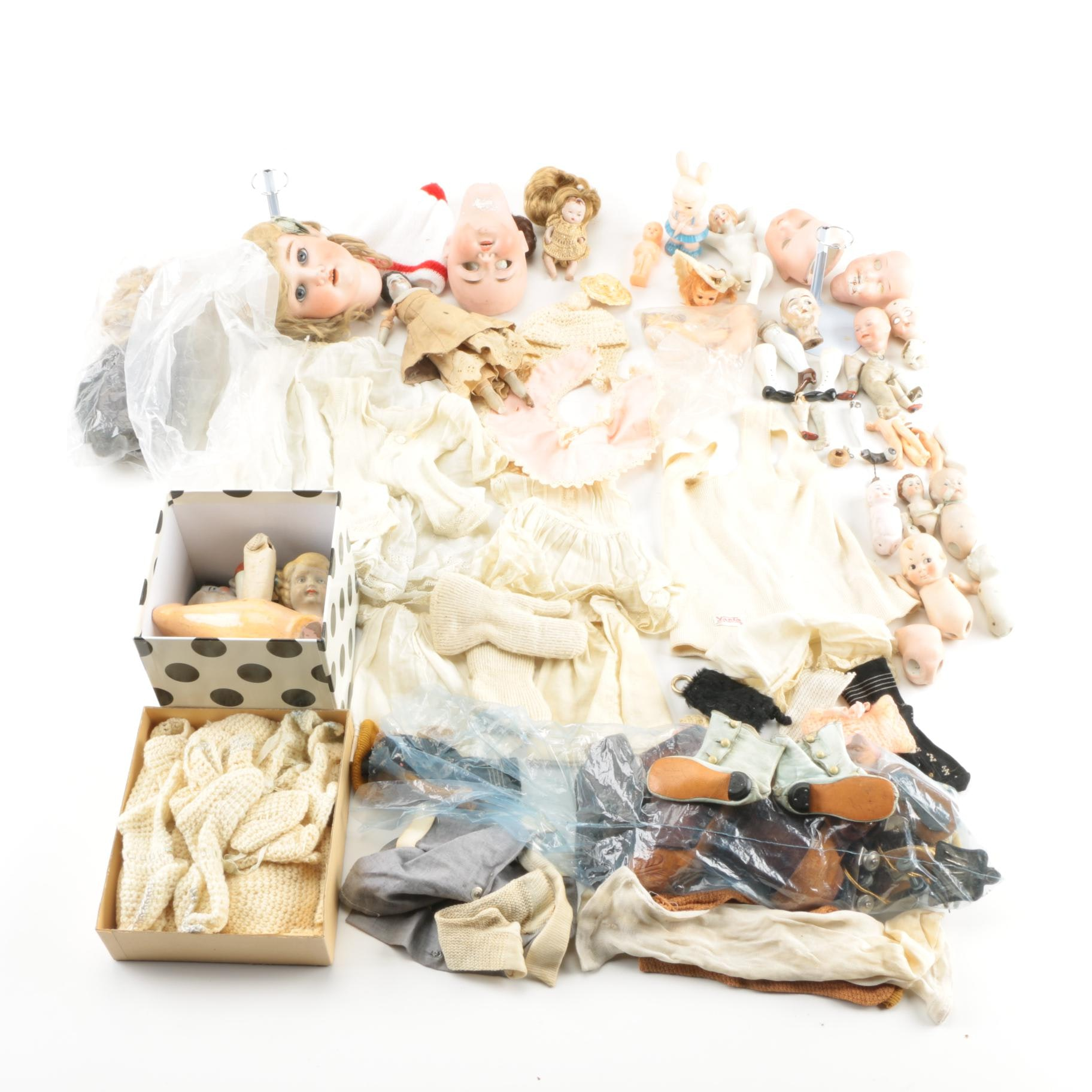 Doll Pieces and Accessories