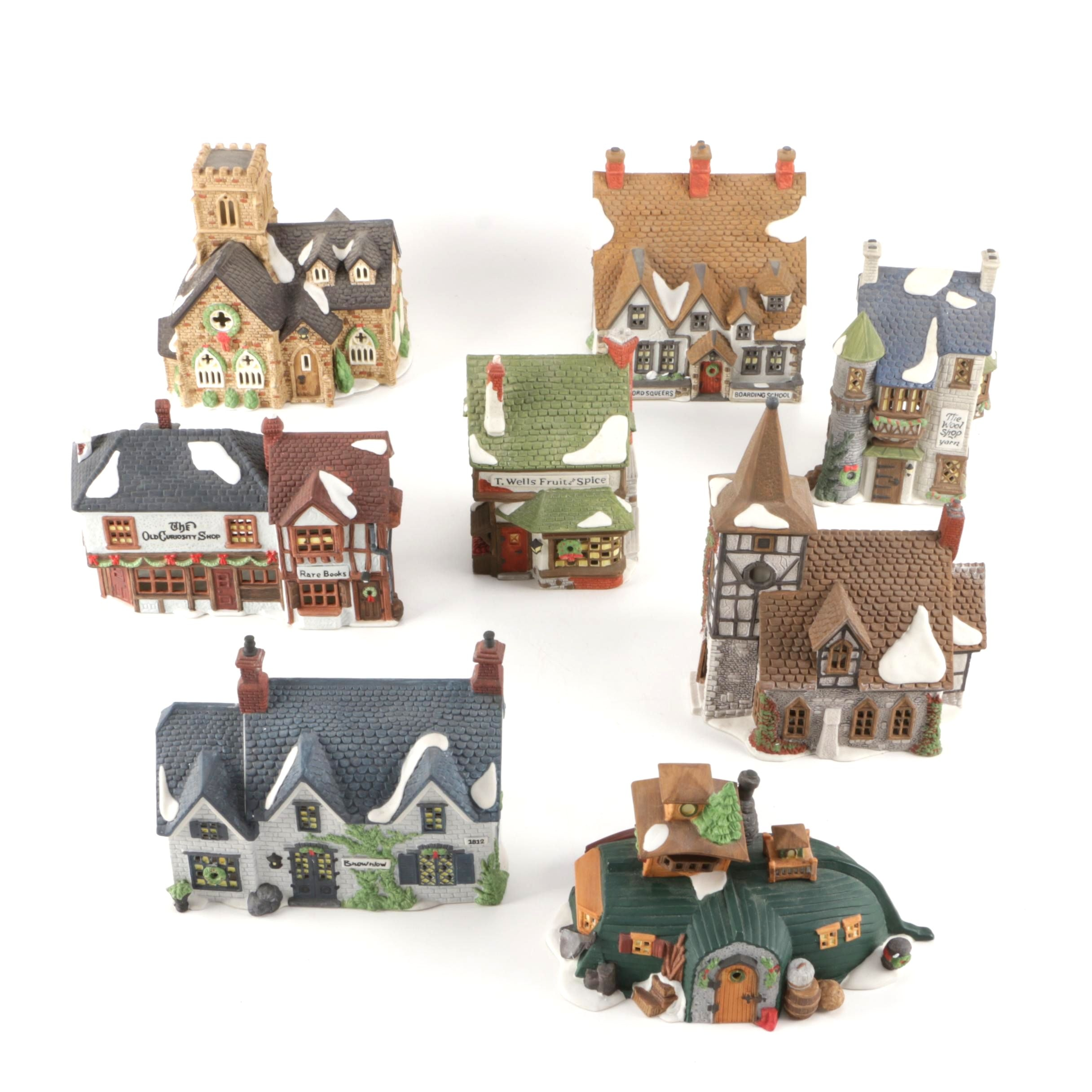 Department 56 Dickens' Village Series Porcelain Holiday Decor