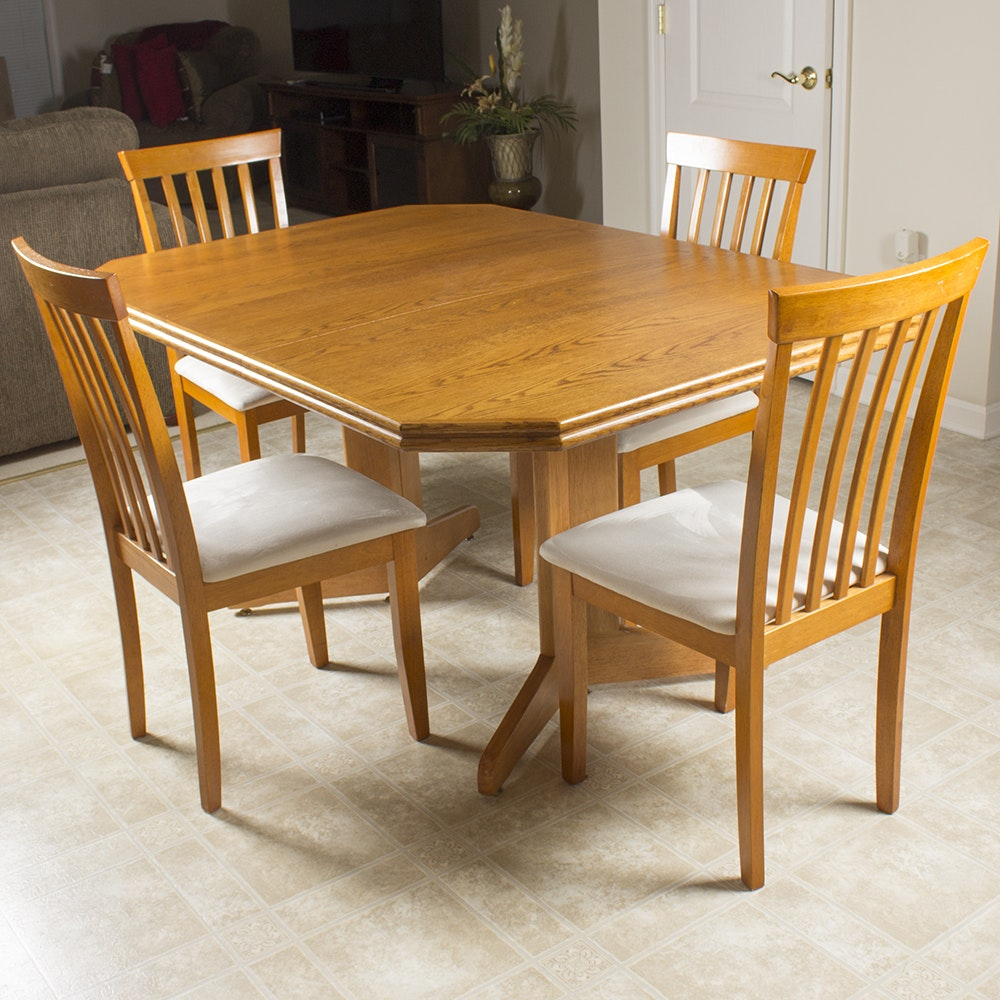 Danish Modern Style Table and Chairs