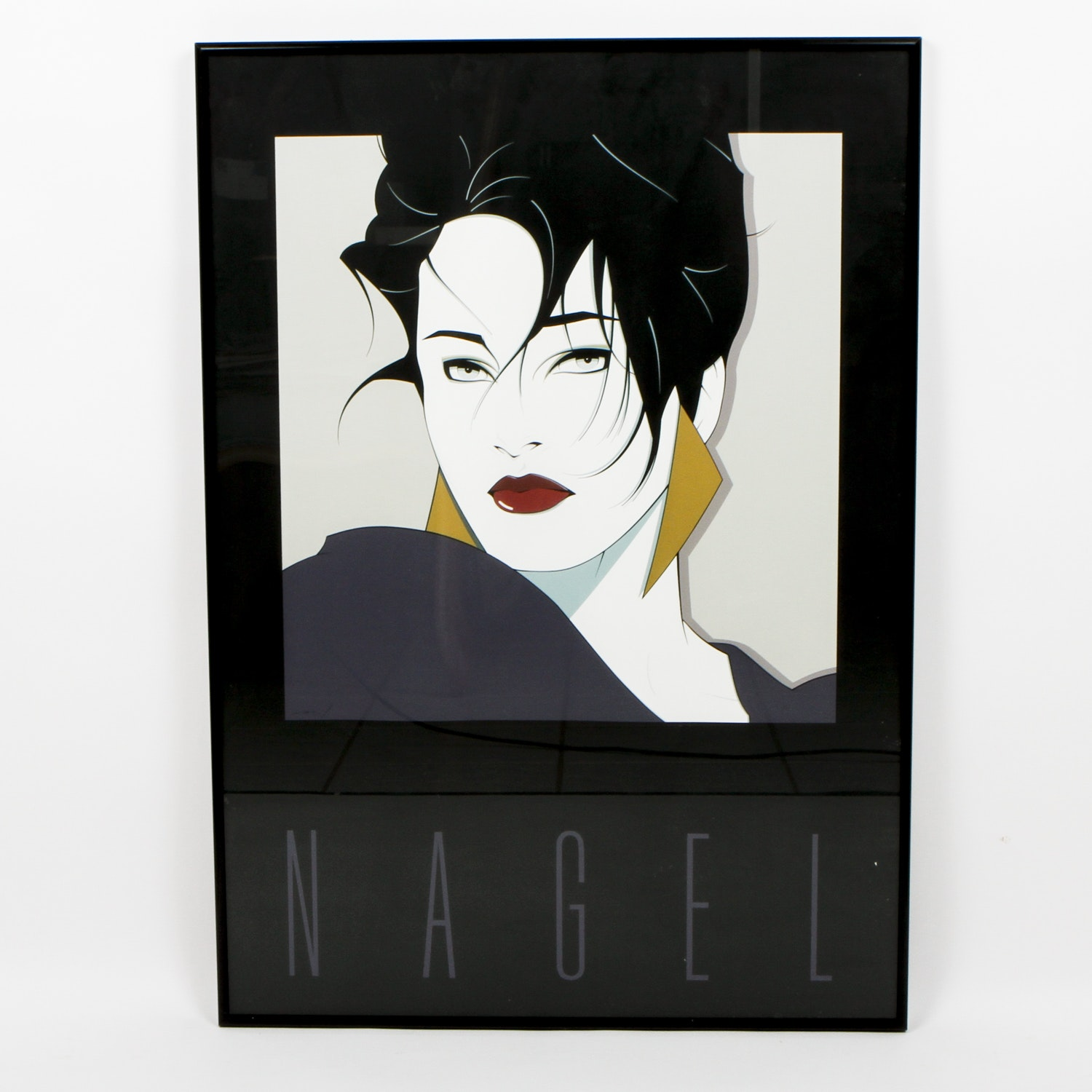 "Patrick Nagel Signed ""Commemorative Number One"" Serigraph"