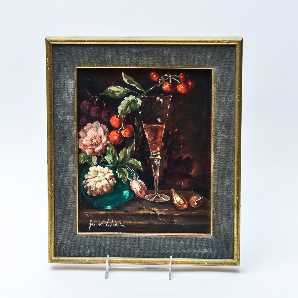 June Wise Still Life on Canvas Painting