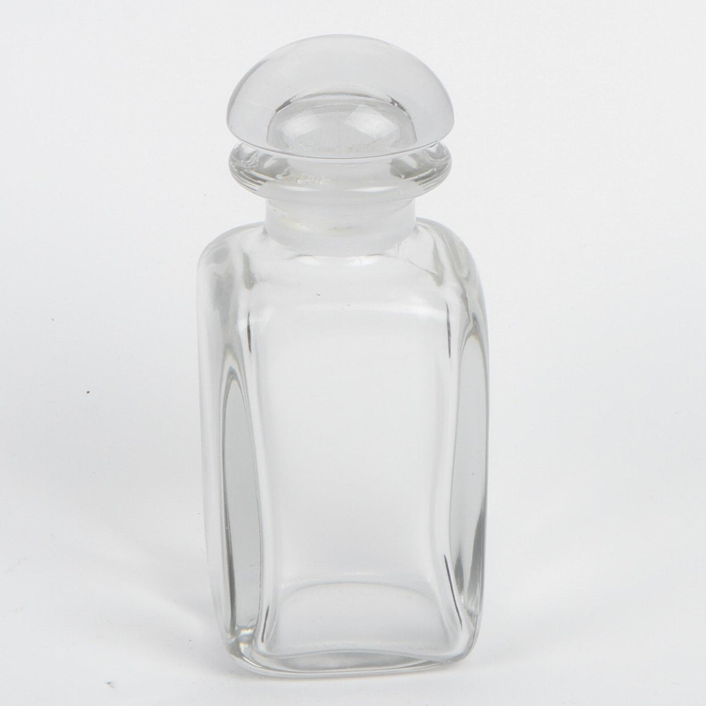 Hermes French Glass Perfume Bottle