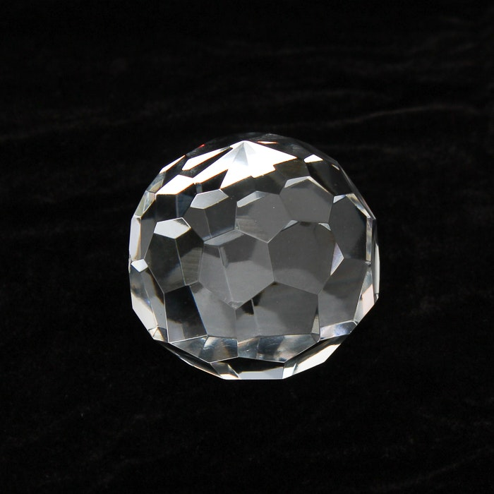 Vintage Tiffany & Co. Crystal Paperweight