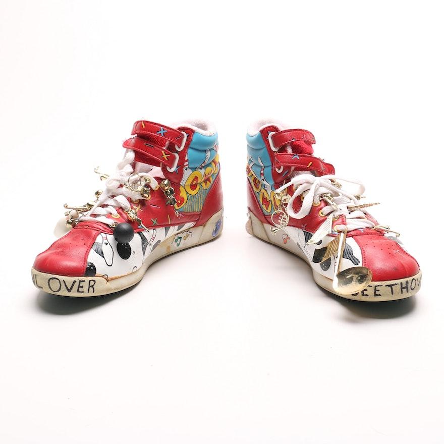 Customized Reebok Bowling Shoes   EBTH 879d1b3a6