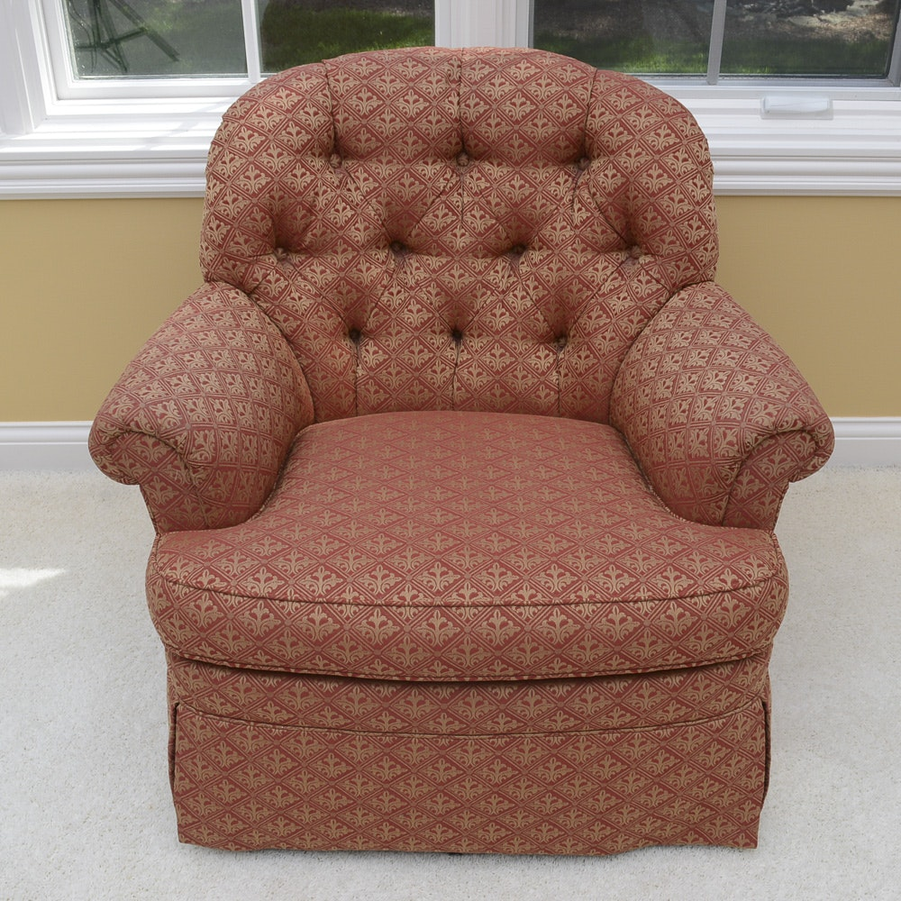 Disque Furniture Swivel Rocker Armchair ...