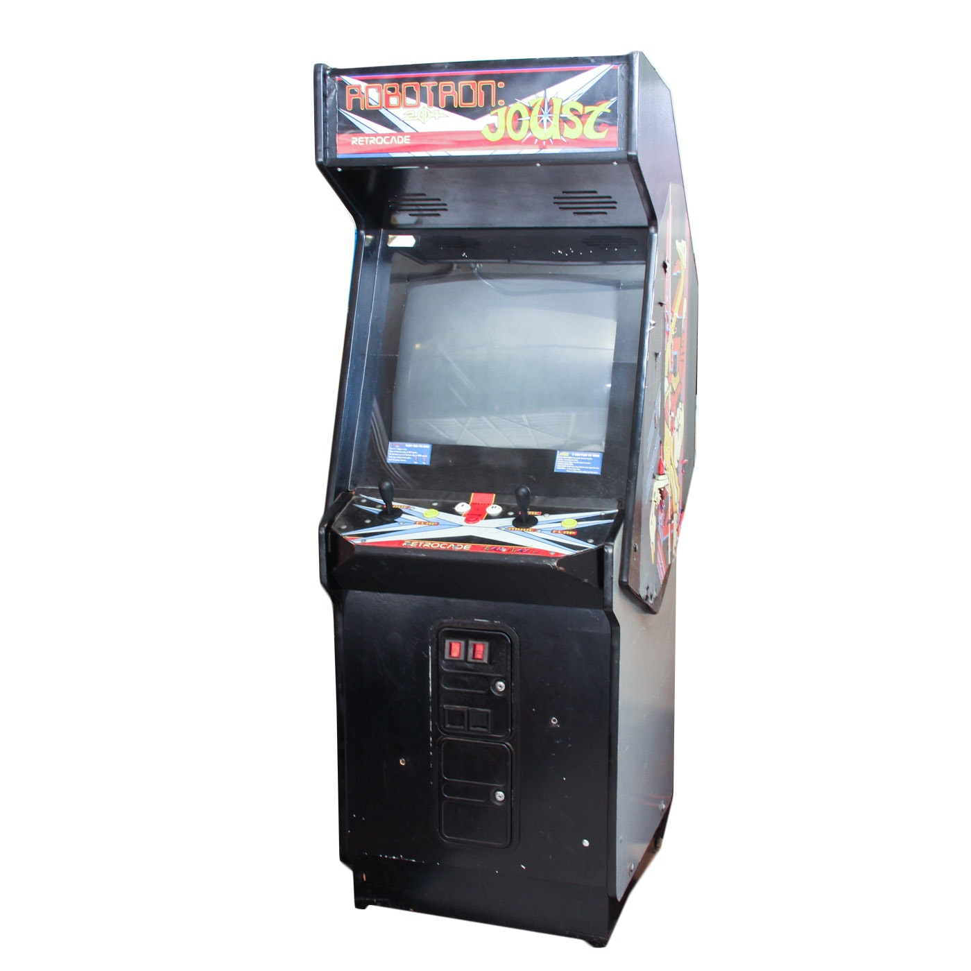 """Retrocade Classic Edition """"Robotron"""" and """"Joust"""" Arcade Game"""