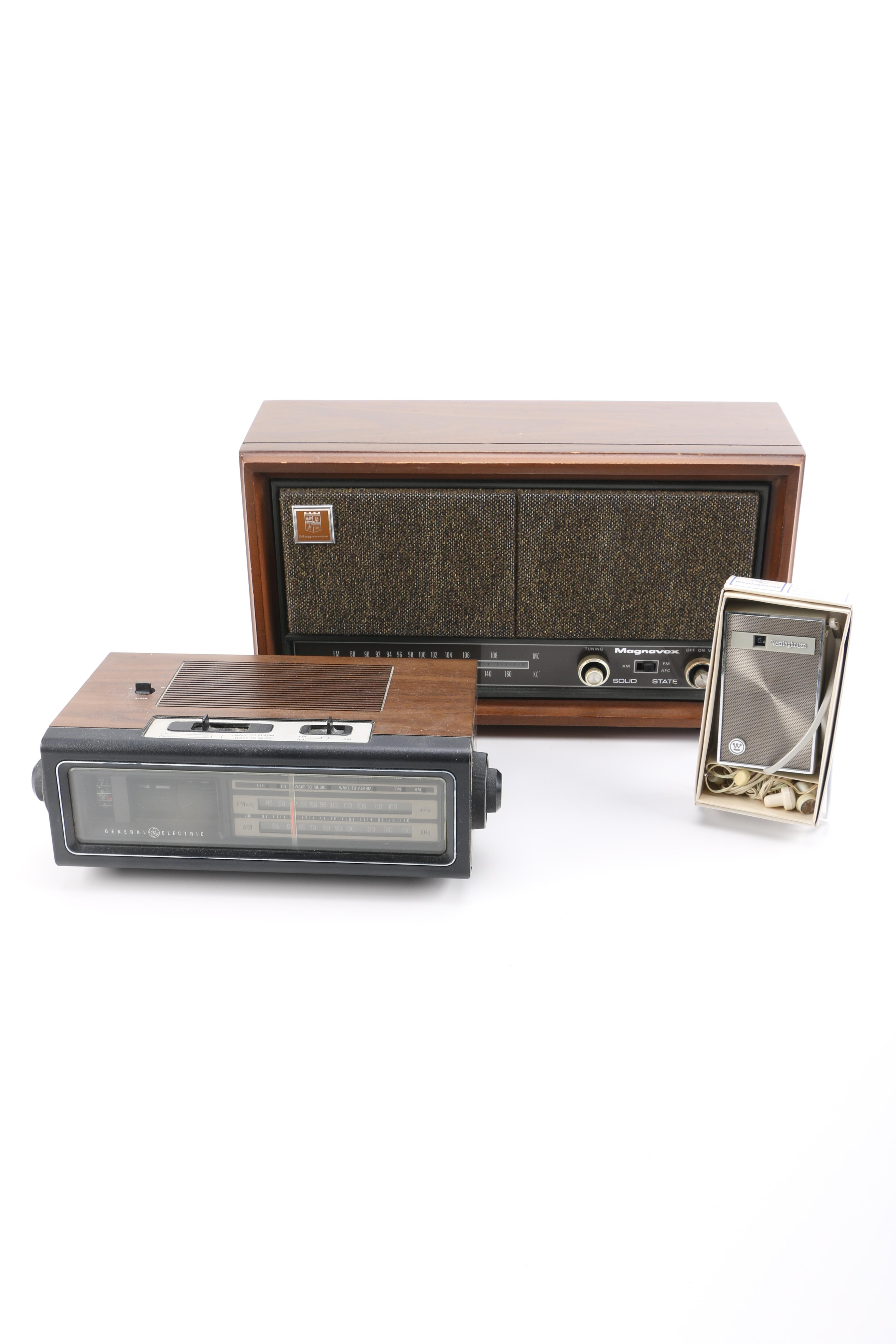 Collection of Vintage Radios