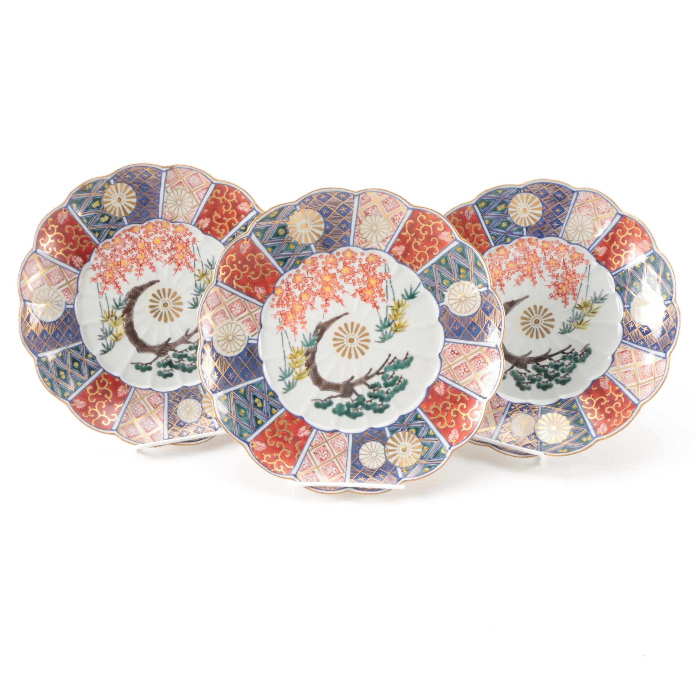 Imari-Style Decorative Plates