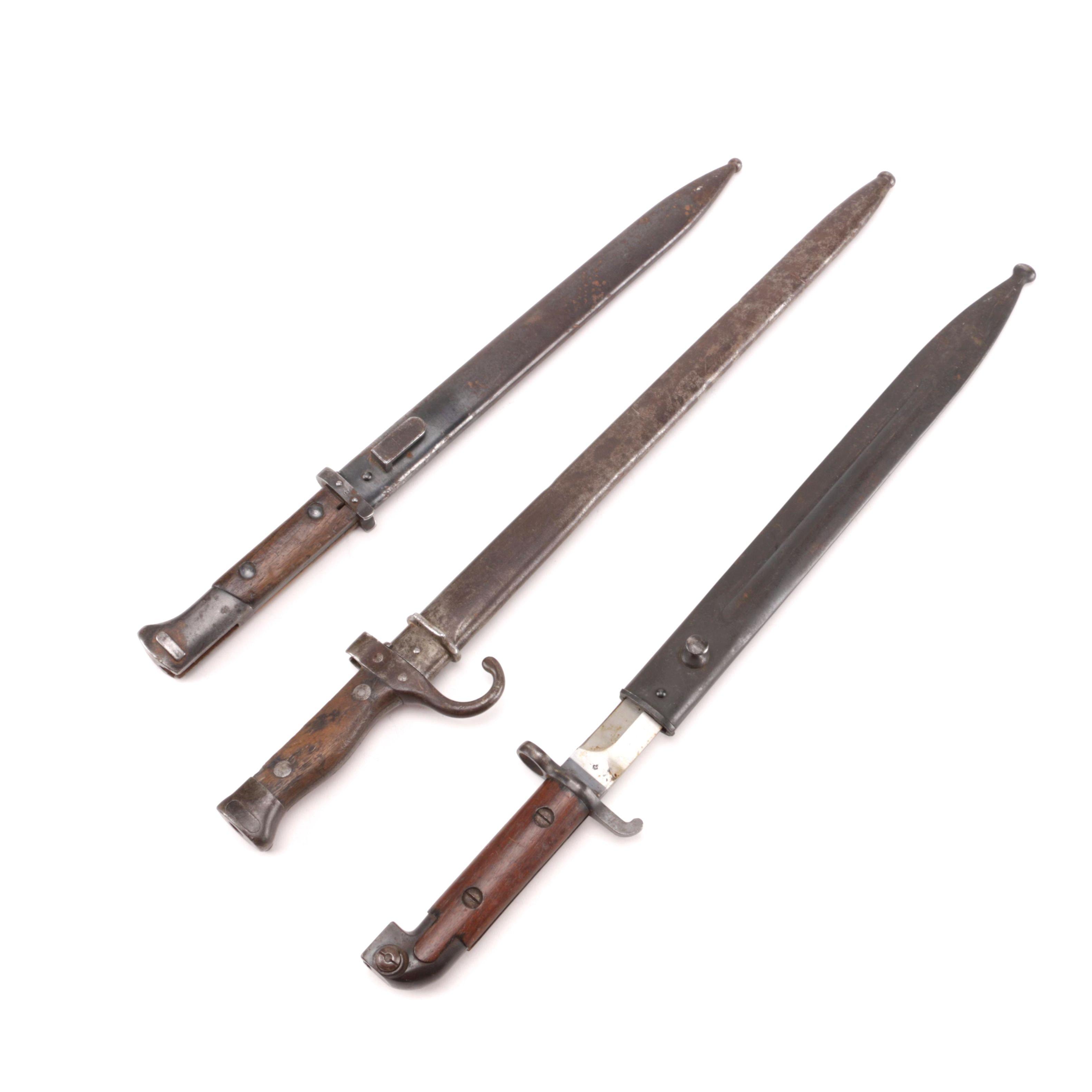 Vintage Bayonet Assortment