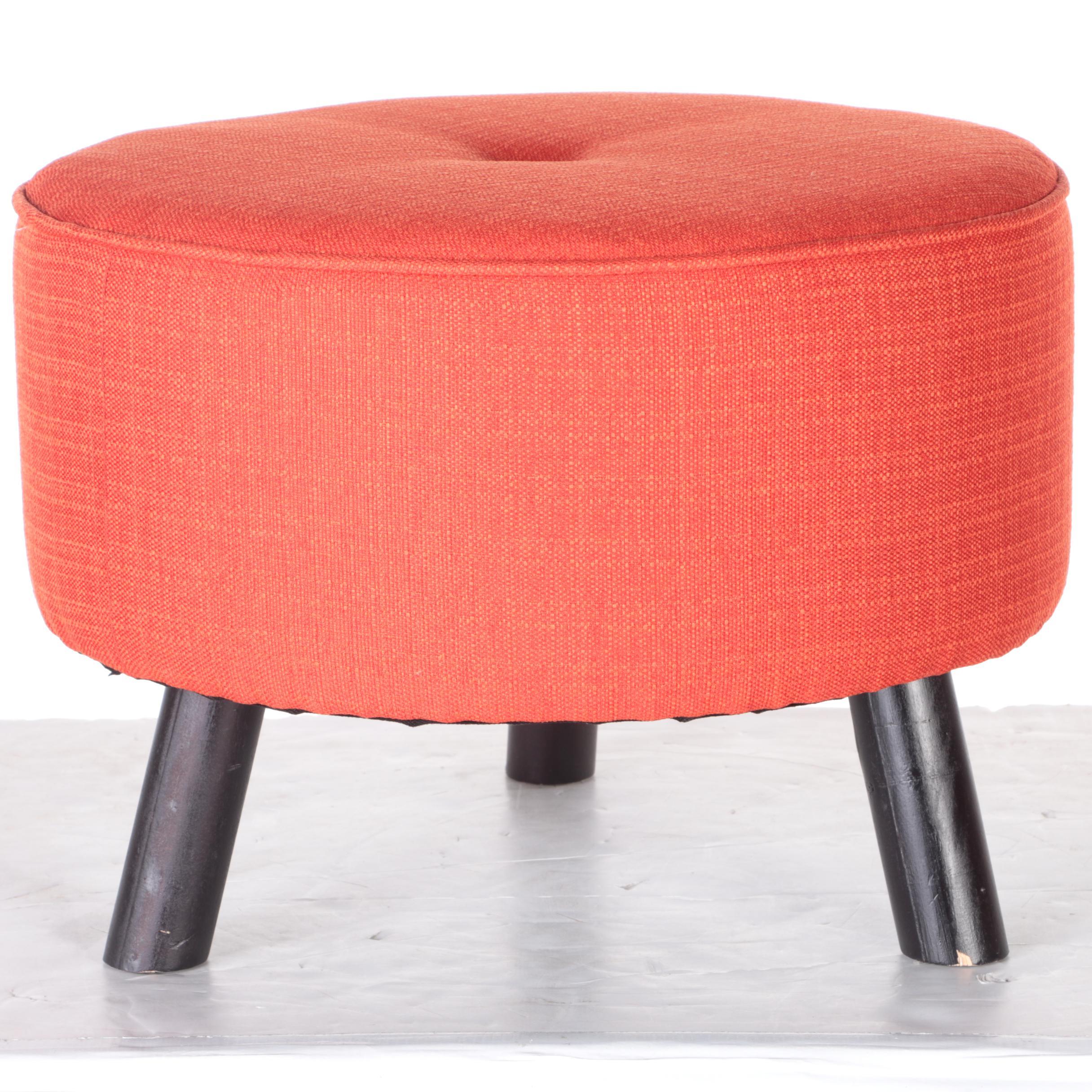 Red Ottoman by JGW Furniture EBTH