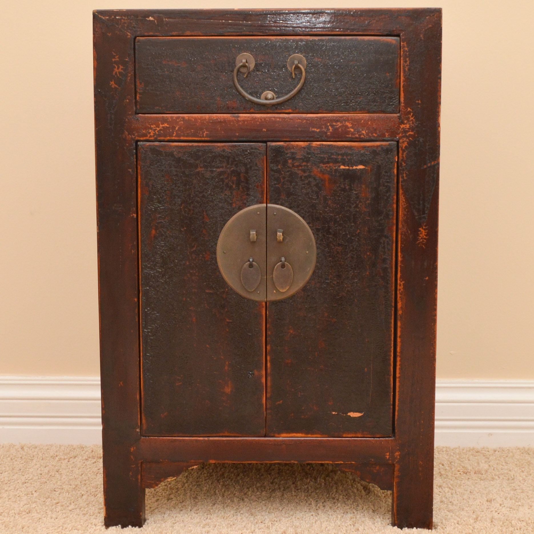 Asian Inspired Bedside Table