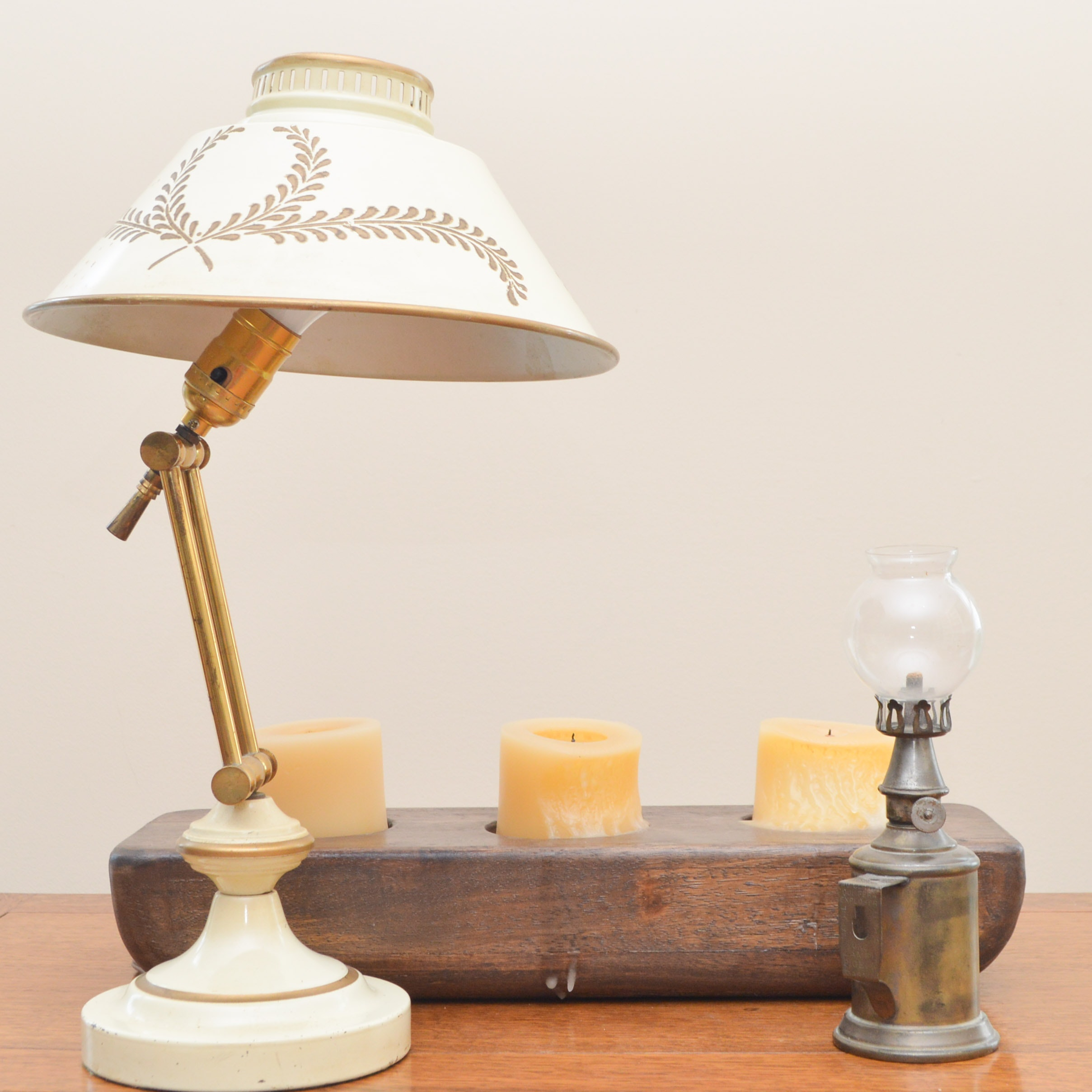 Vintage Lighting Grouping