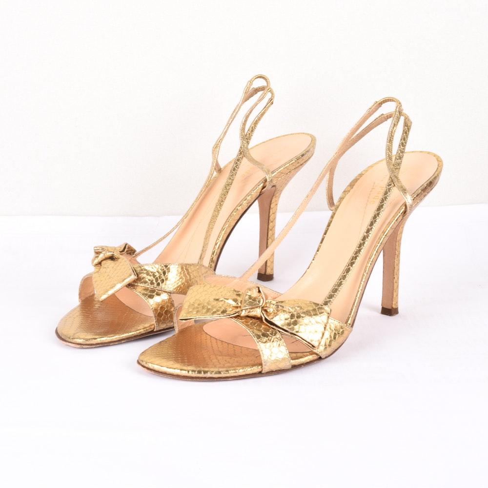 Kate Spade Lover Leather Heeled Sandels