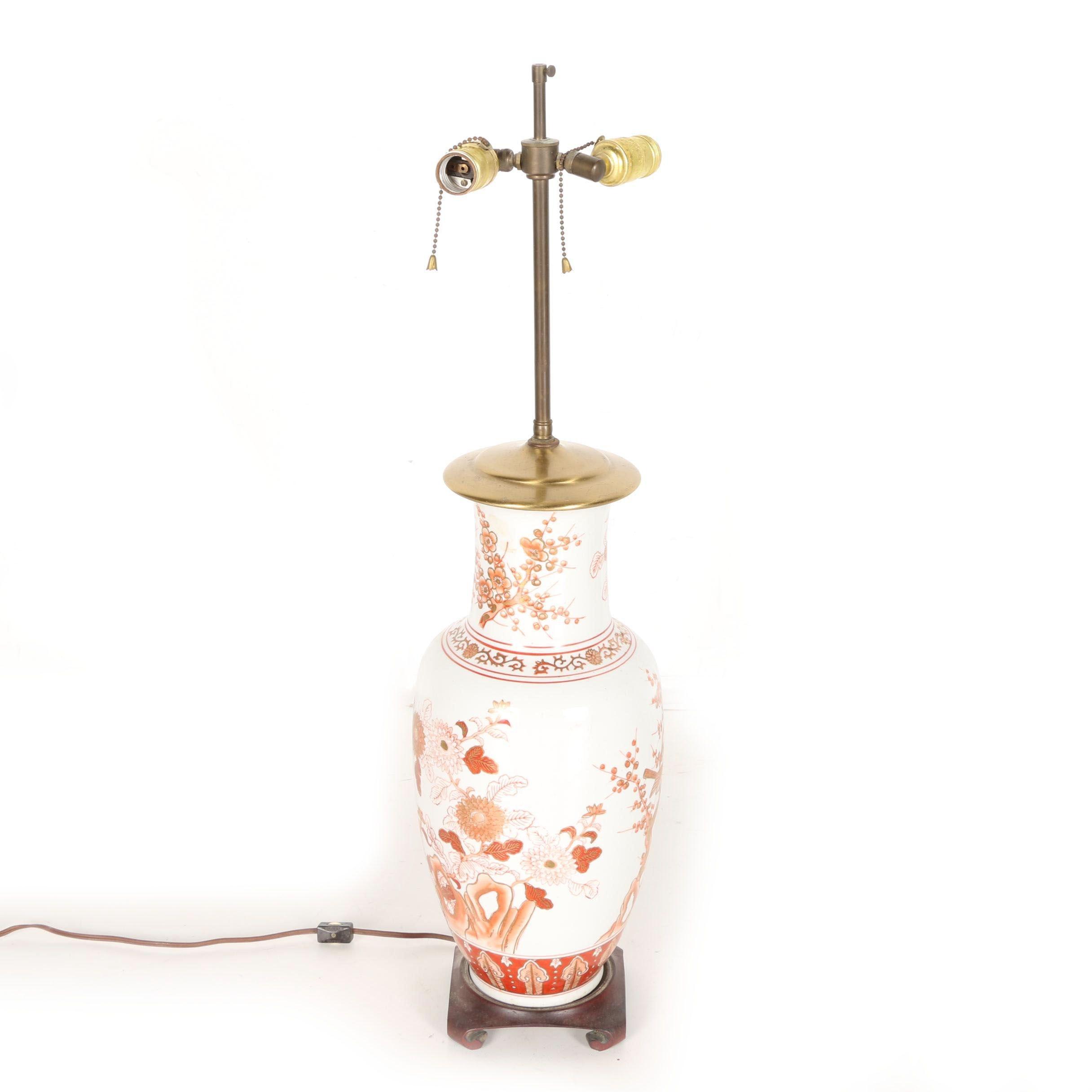 Ceramic Vase Table Lamp