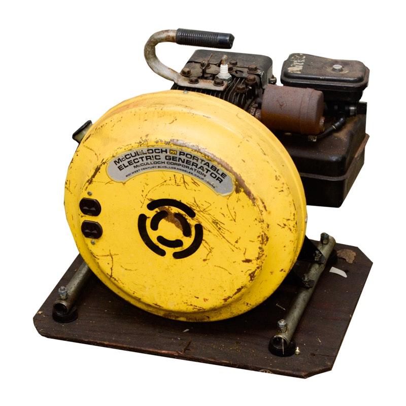 McCulloch Portable Electric Generator