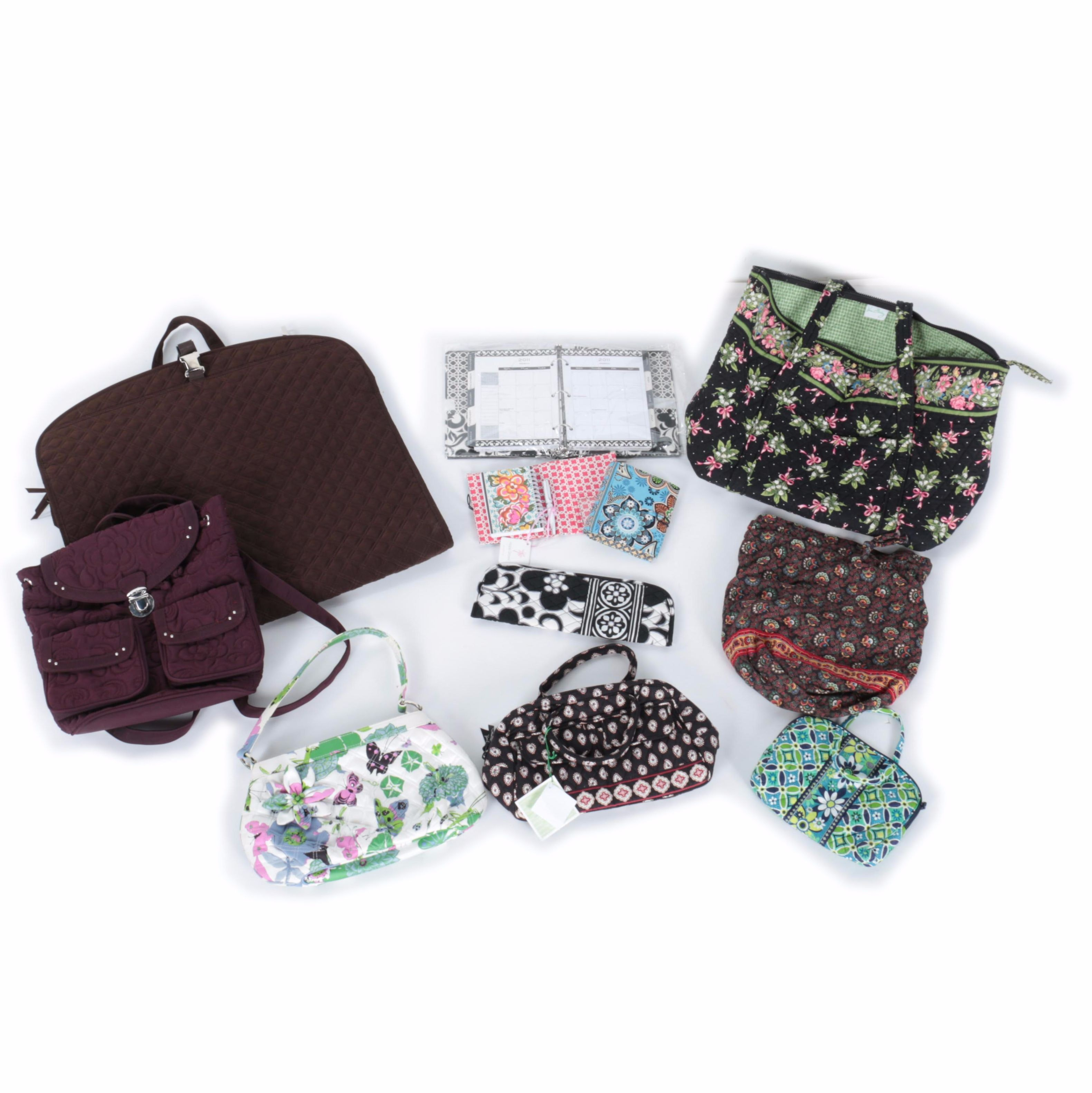 Vera Bradley Bags and Organizer Covers