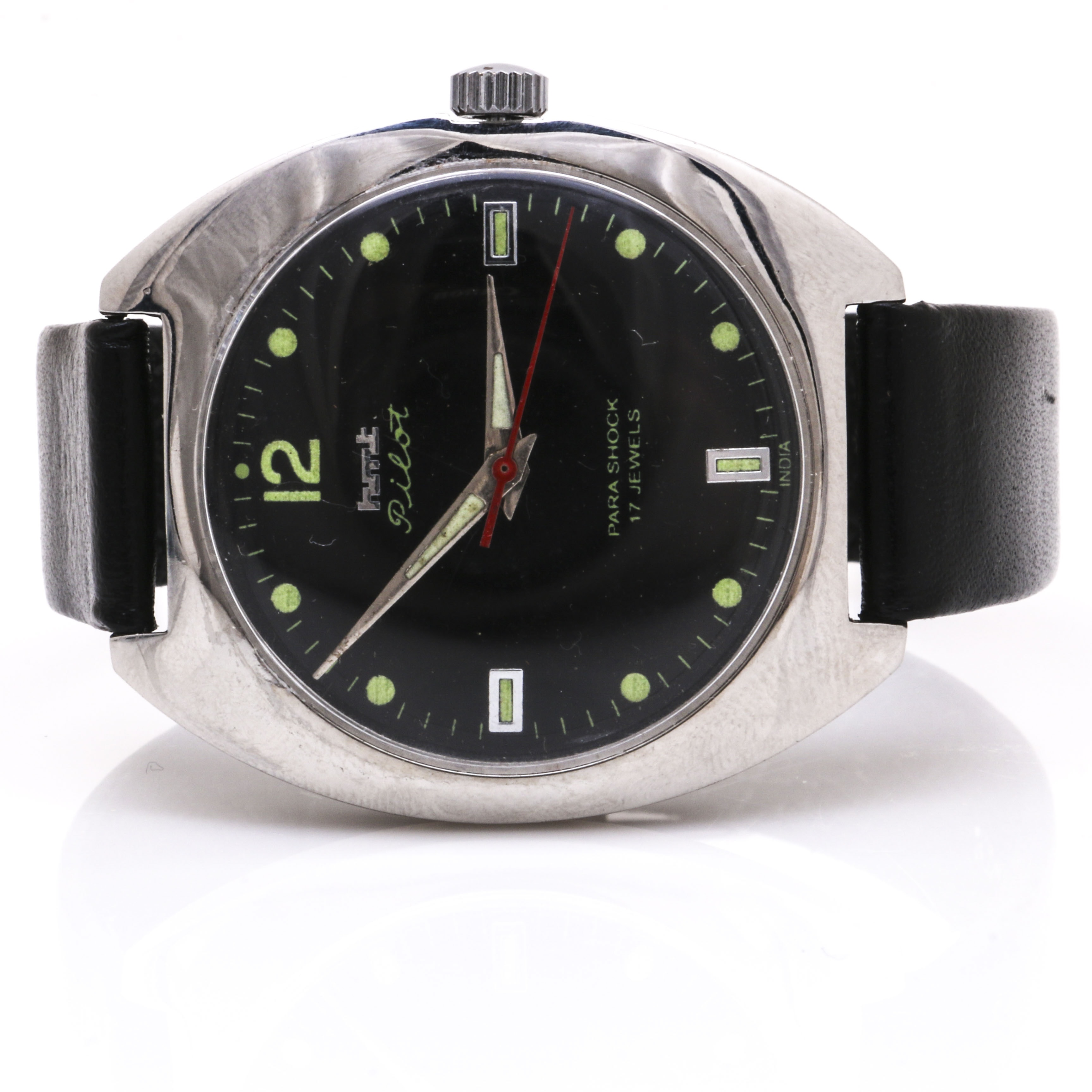 HMT Pilot Stainless Steel Wristwatch