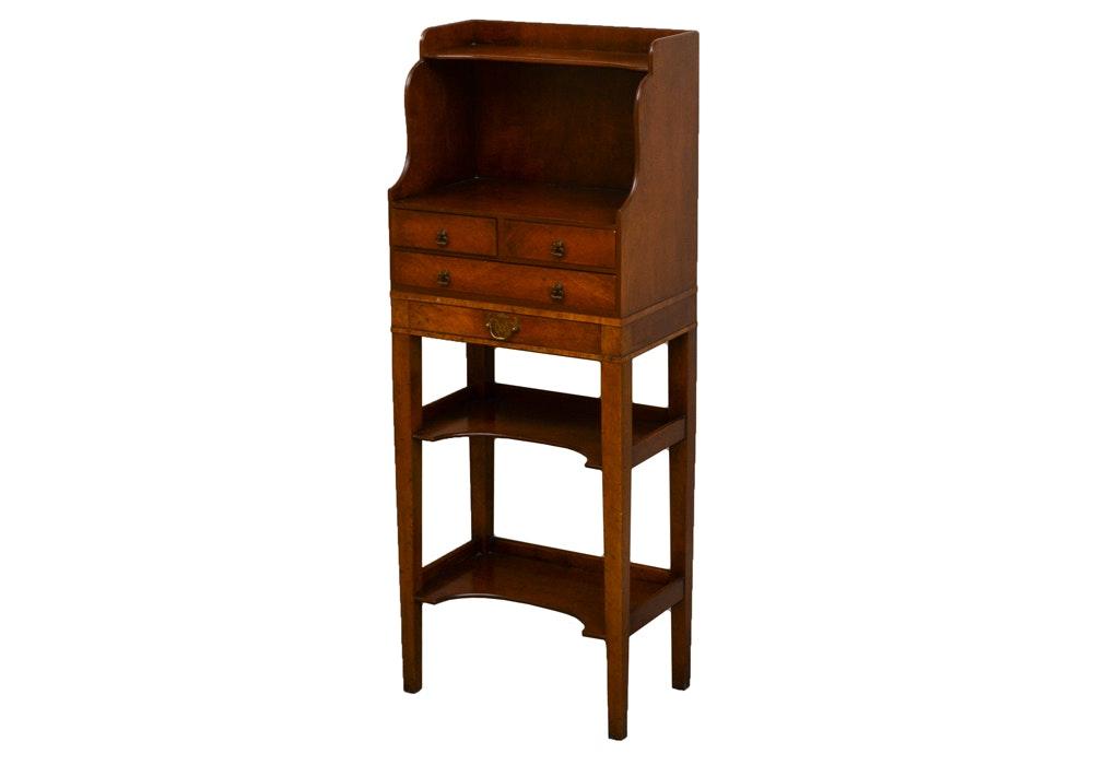 Sahon N.Y. Vintage Wooden Shelf Stand