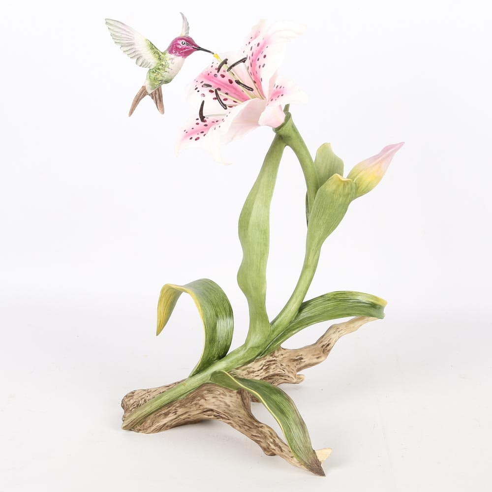 "Boehm ""Costa's Hummingbird"" Porcelain Figurine"