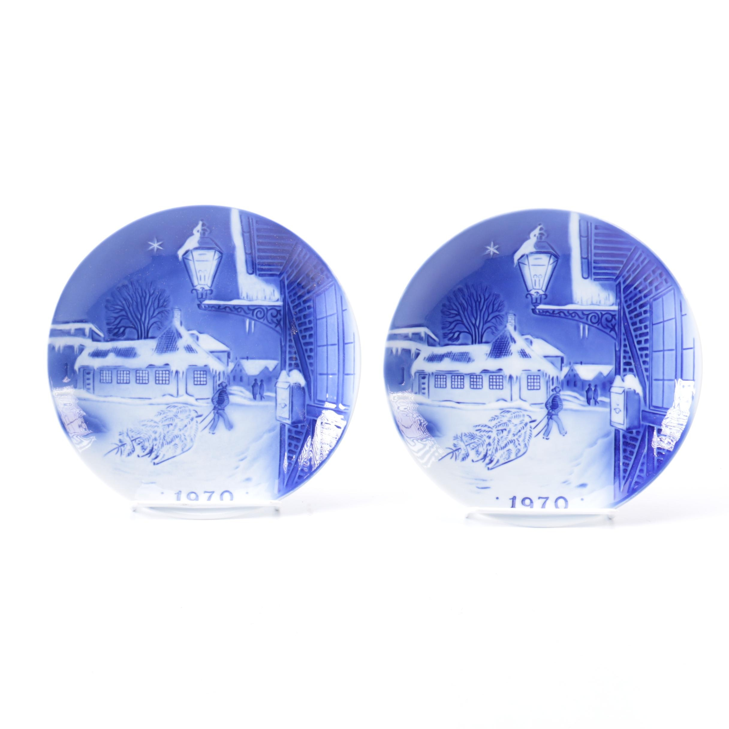 """1970 """" Hans Christian Anderson's House"""" Plates"""