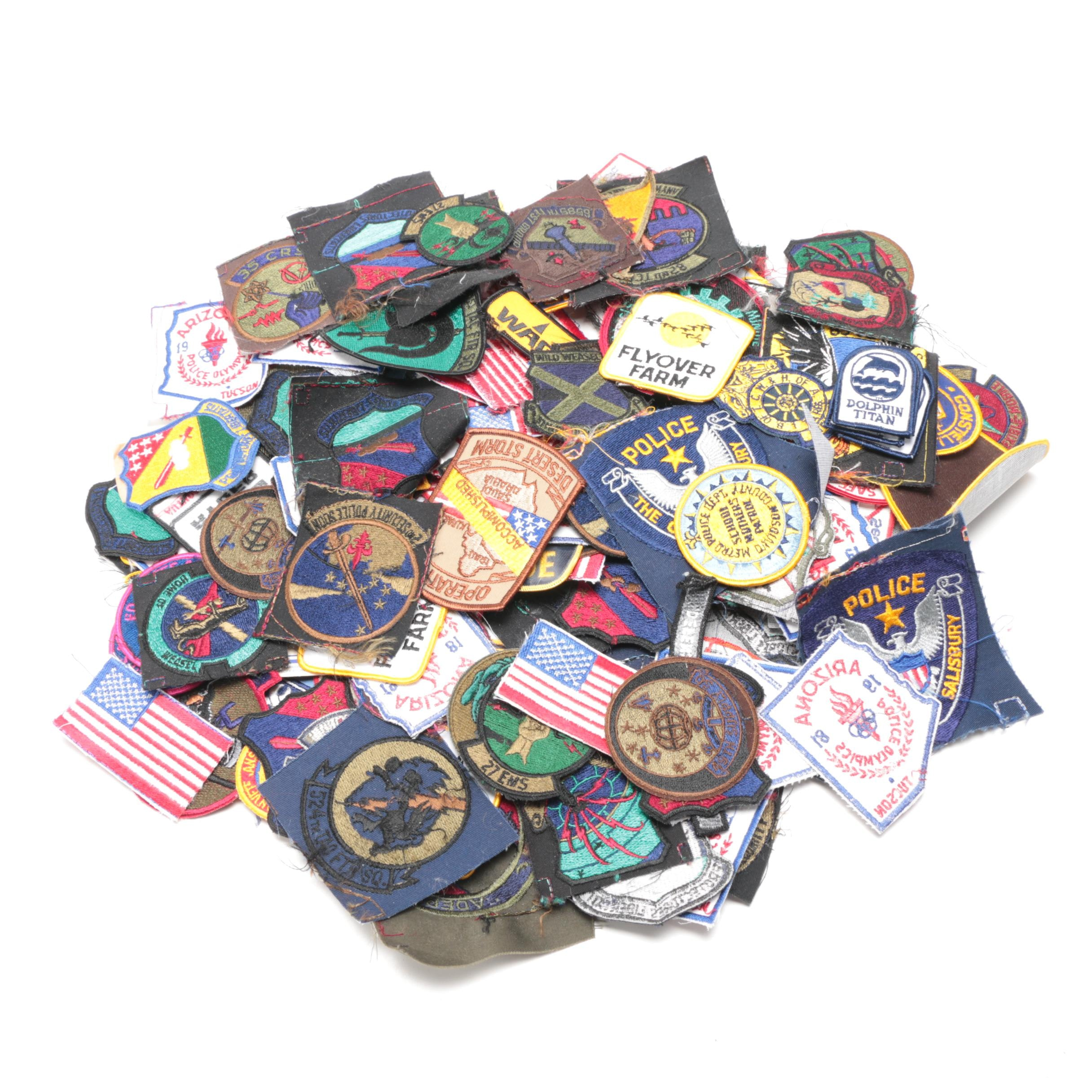 Military, Police and Other Patches
