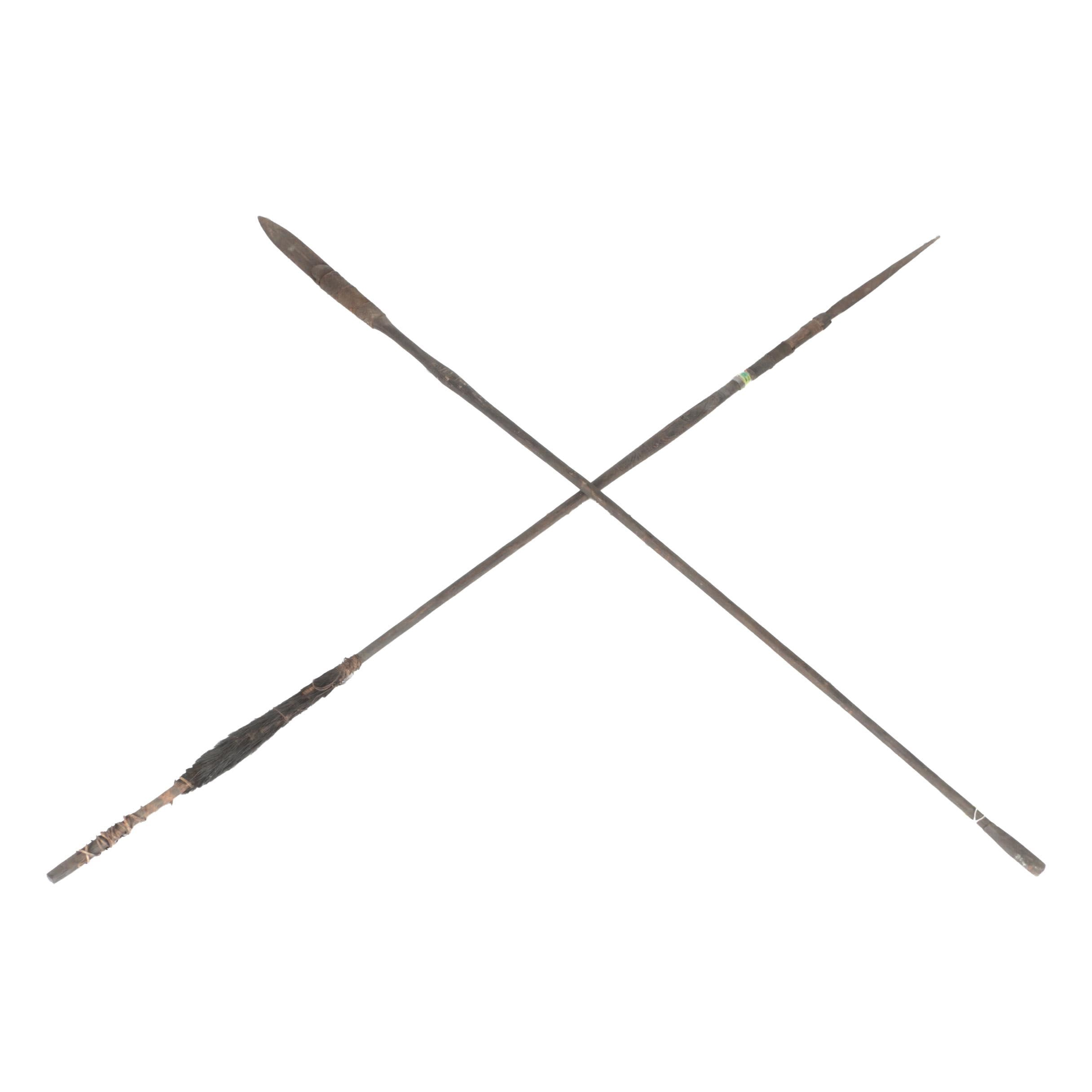 Pair of Papua New Guinean Spears
