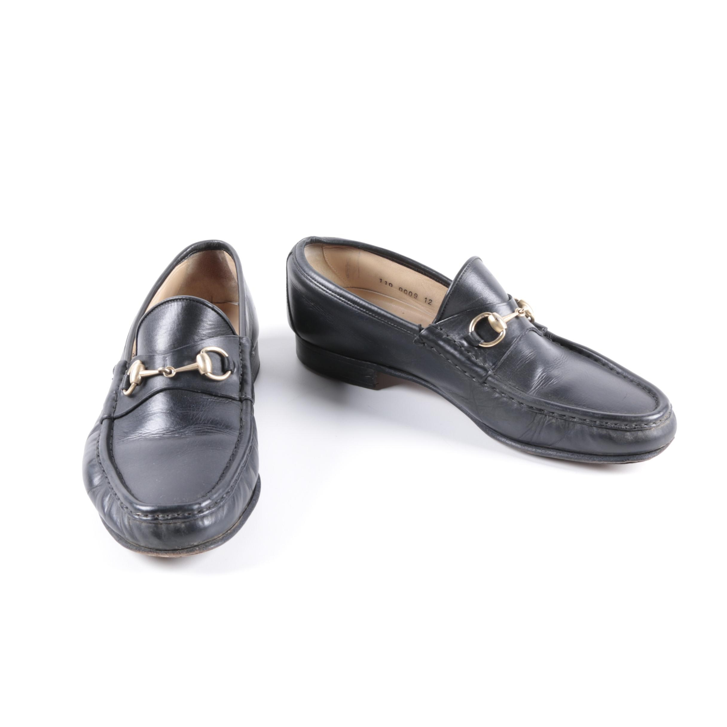 Leather Gucci Loafers